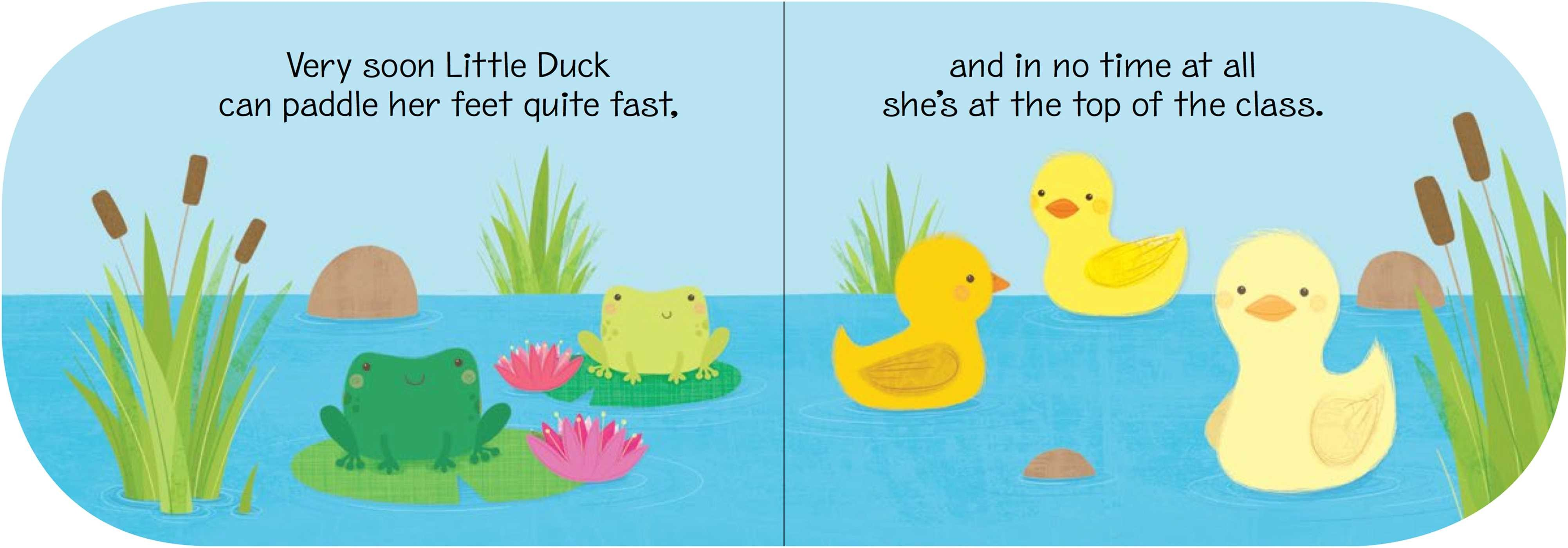 My Little Storybook: Little Duck Learns to Swim   Book by ...