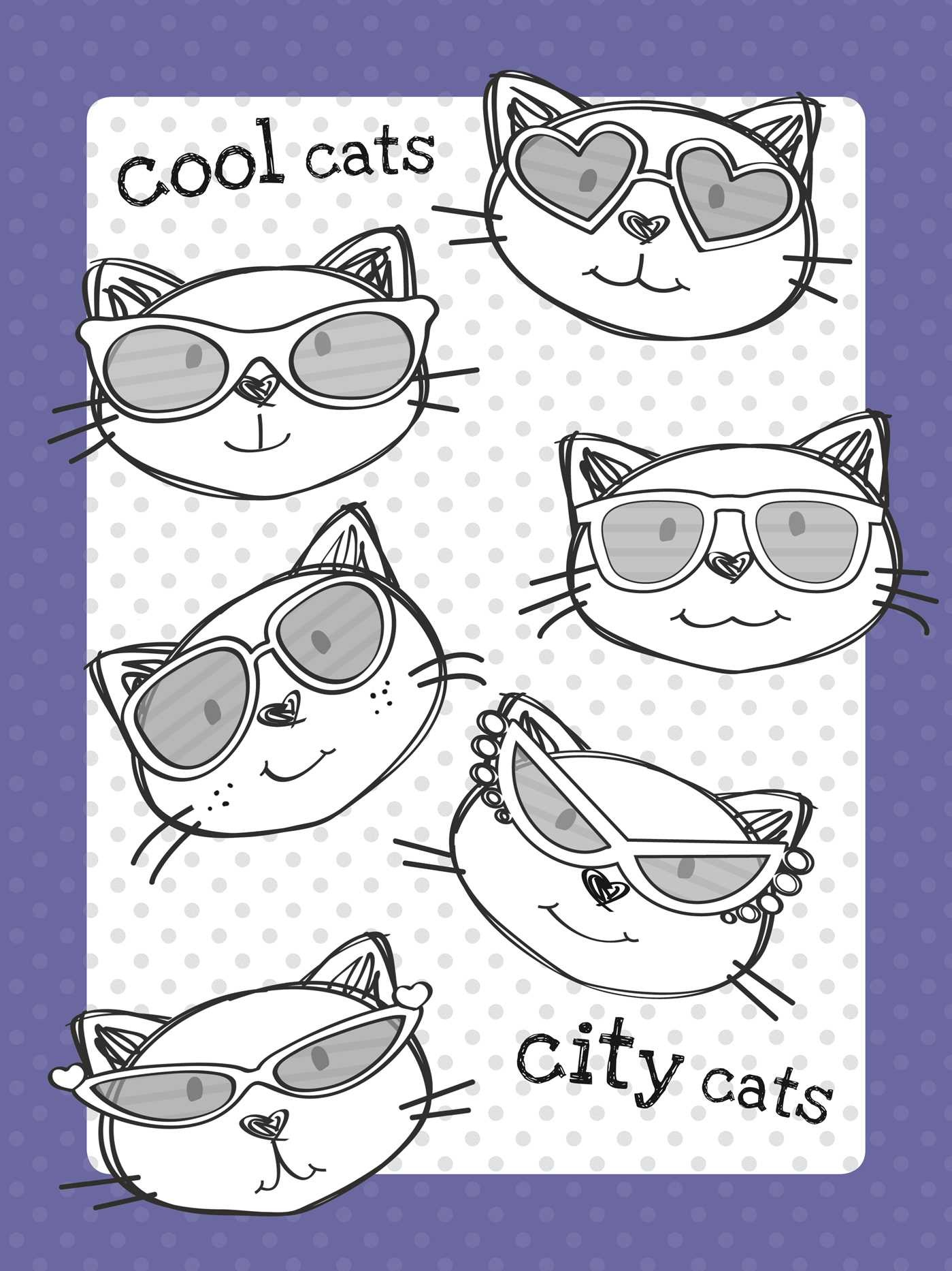 The Too Cute Coloring Book Kittens 9781499802061in01
