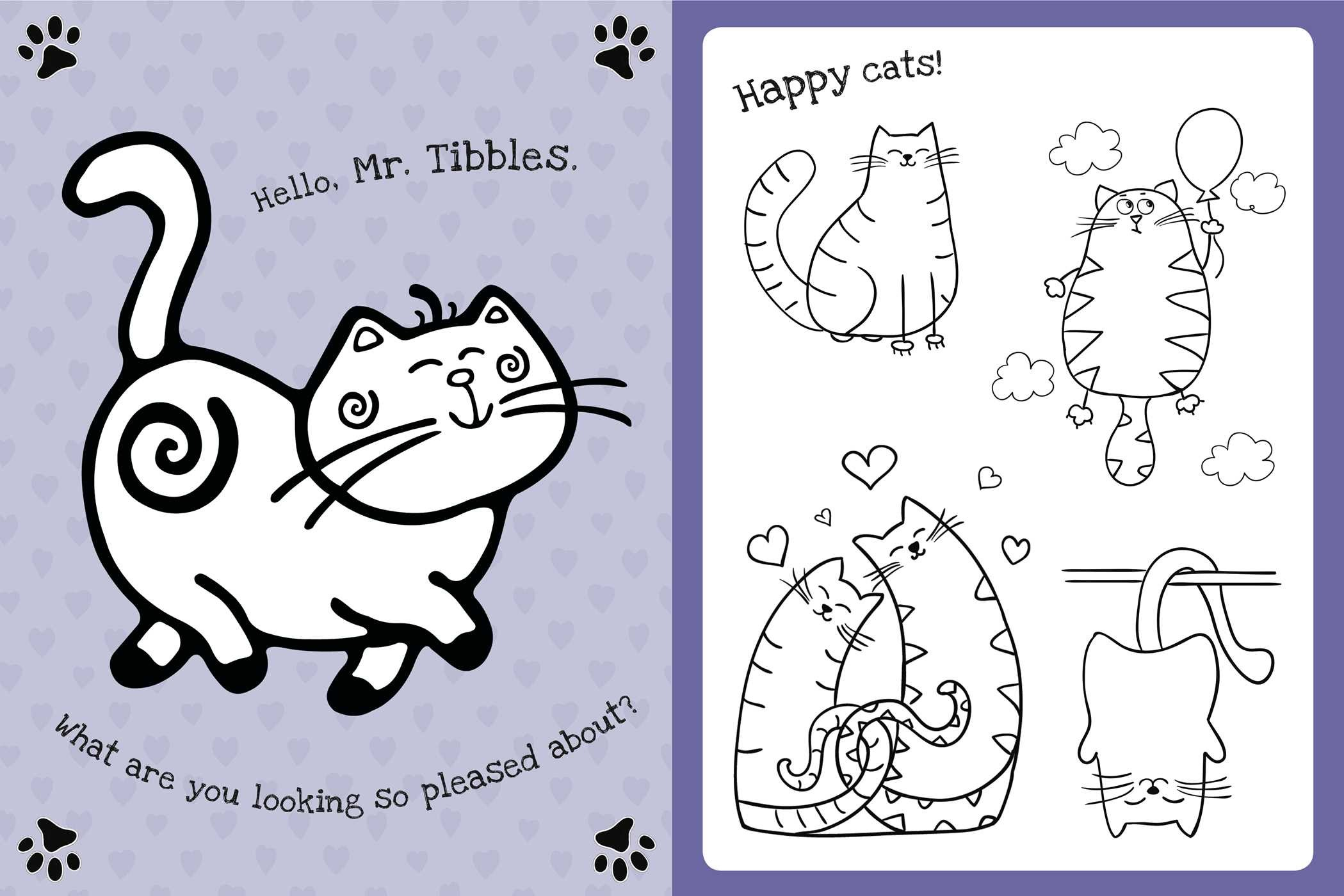 The Too Cute Coloring Book Kittens 9781499802061in02