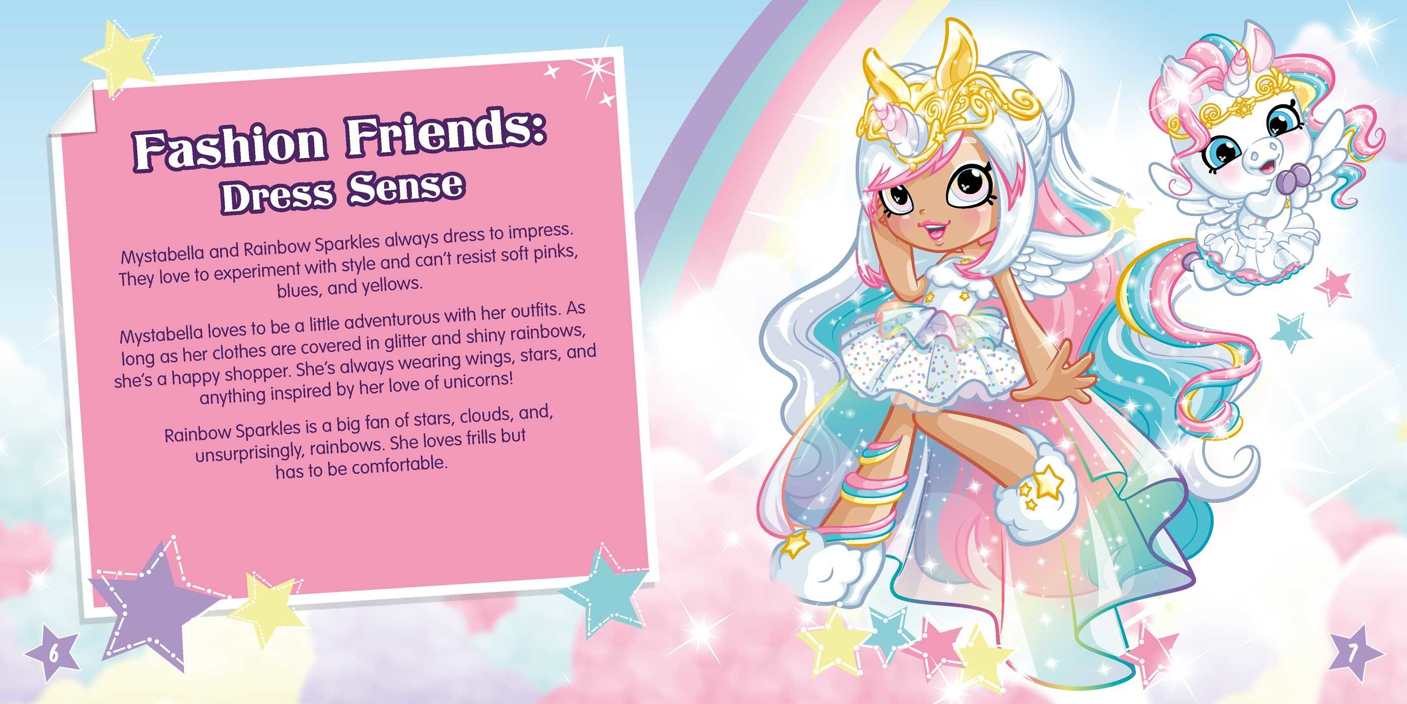 Shoppies Meet Mystabella And Rainbow Sparkles Book By