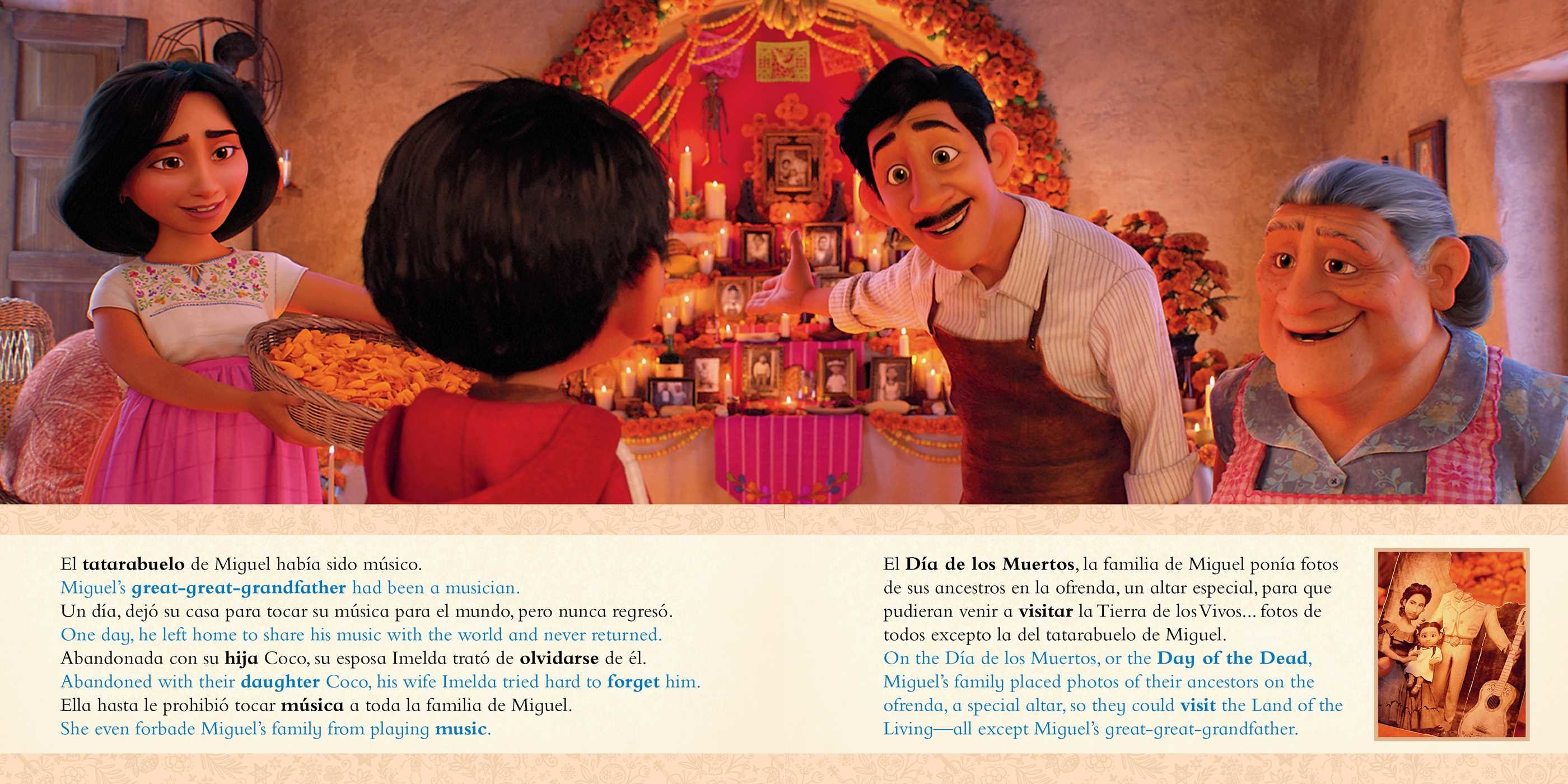 Disney/Pixar Coco: Movie Storybook / Libro basado en la