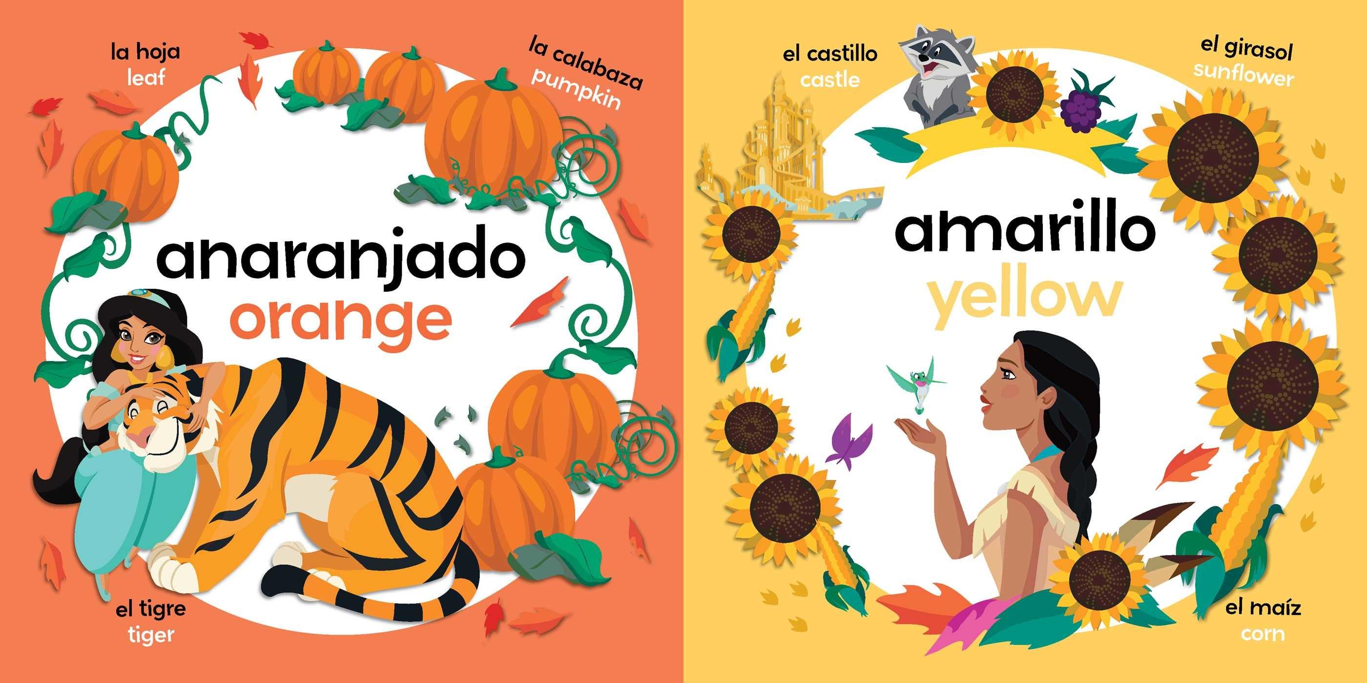 Colors bilingual disney princess 9781499807813.in02