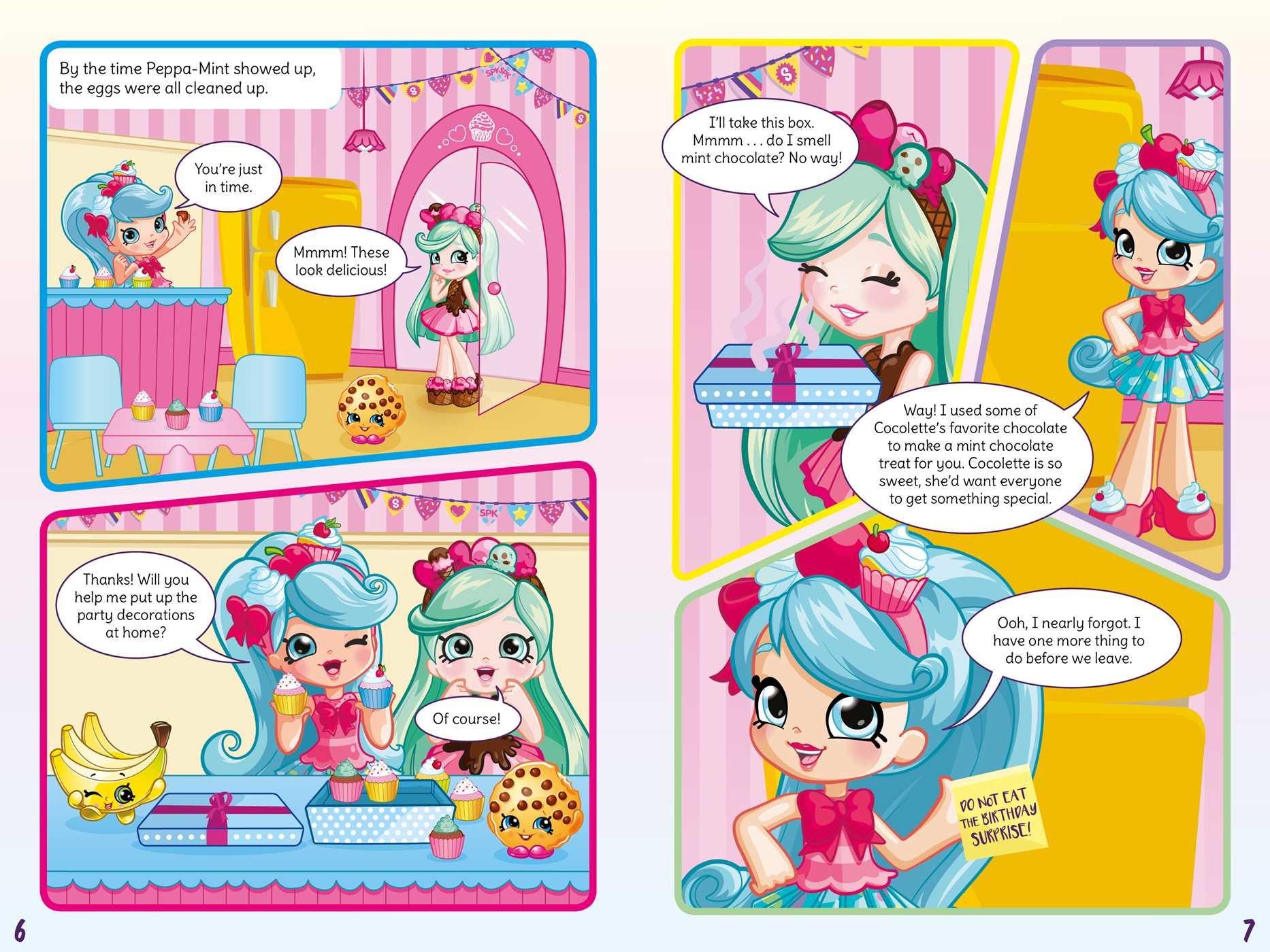 Shoppies cupcake culprit comic mystery 9781499807820.in01