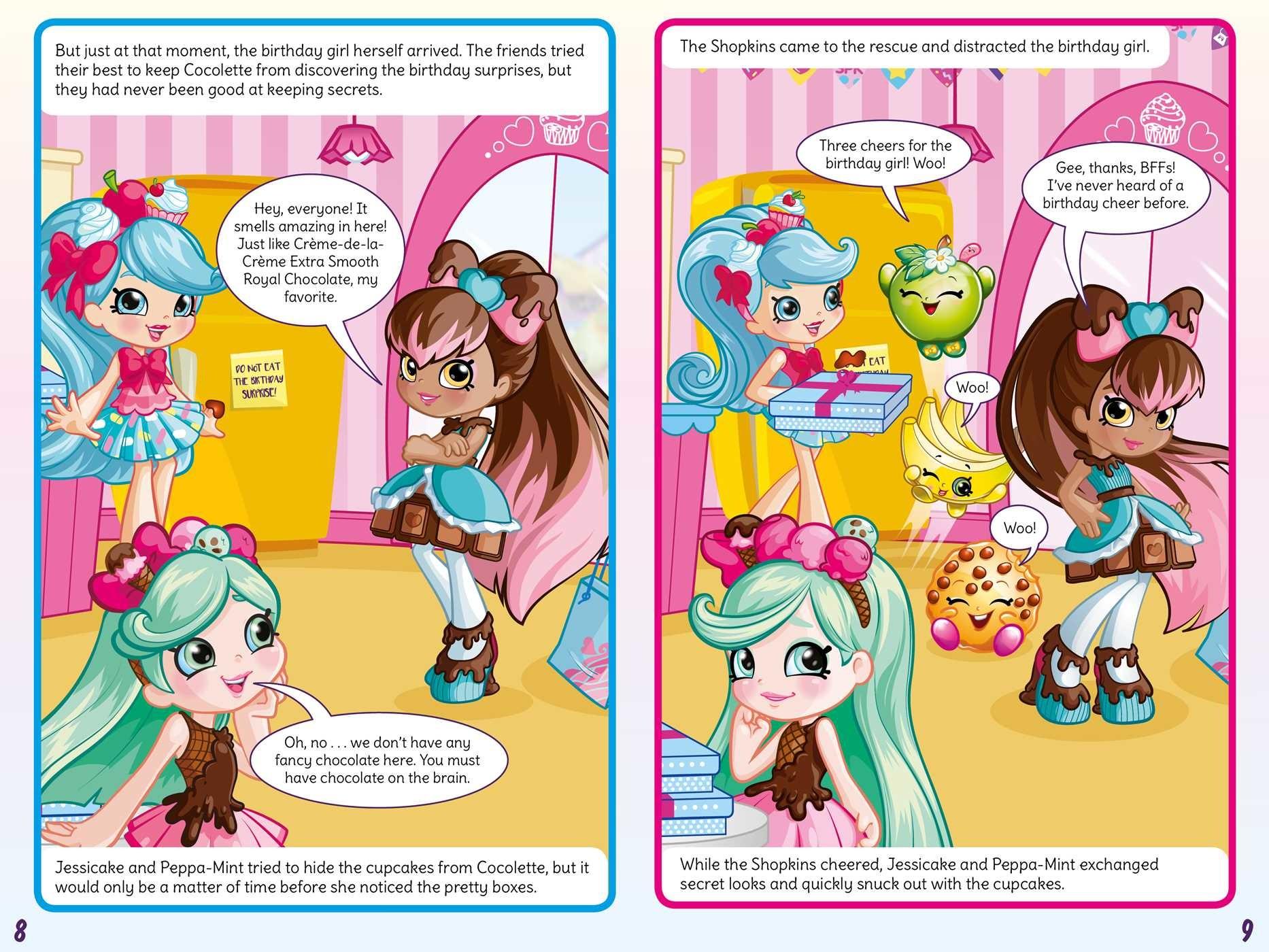 Shoppies cupcake culprit comic mystery 9781499807820.in02
