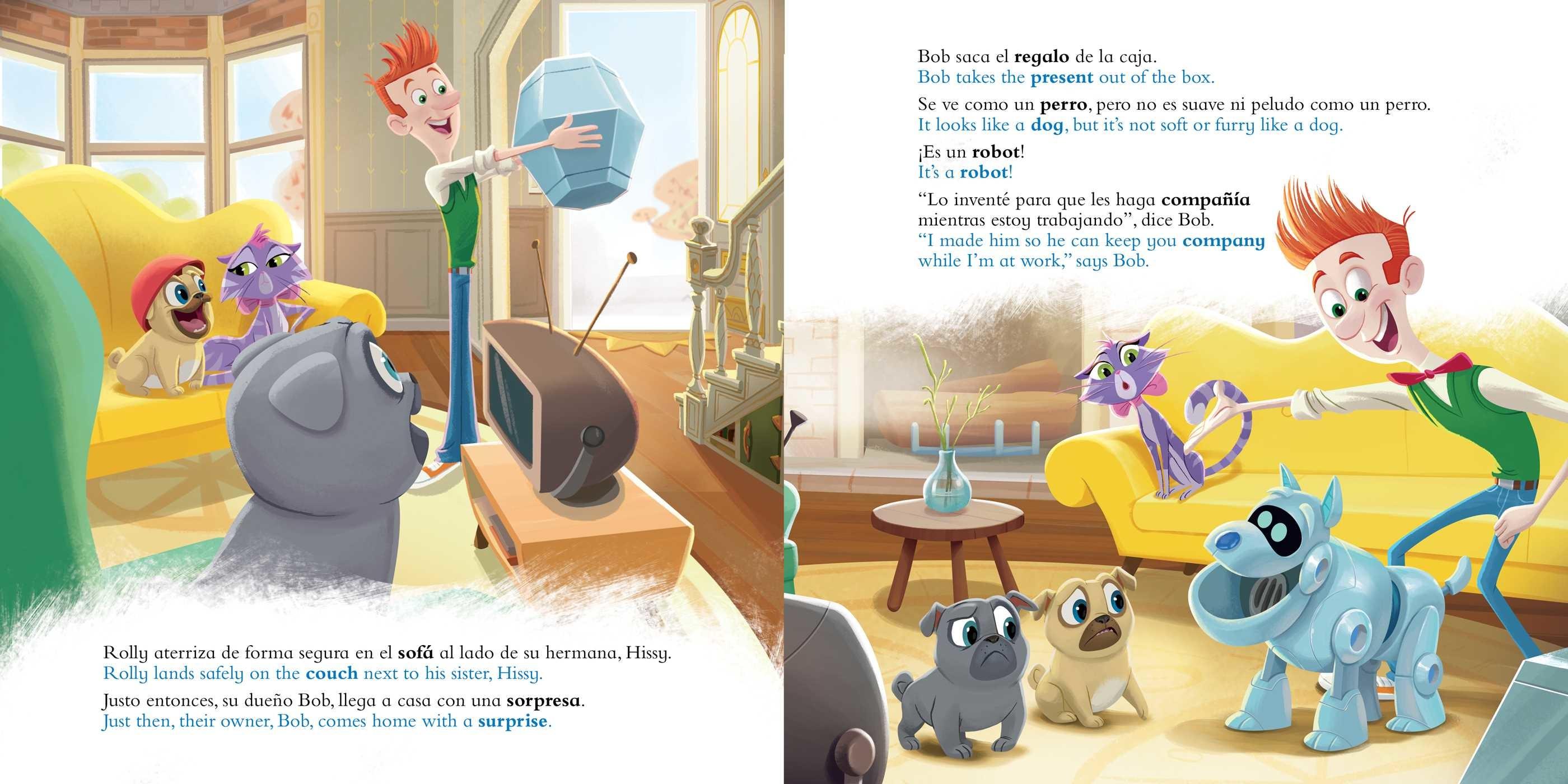 Good clean fun diversion buena y limpia english spanish disney puppy dog pals 9781499807875.in01