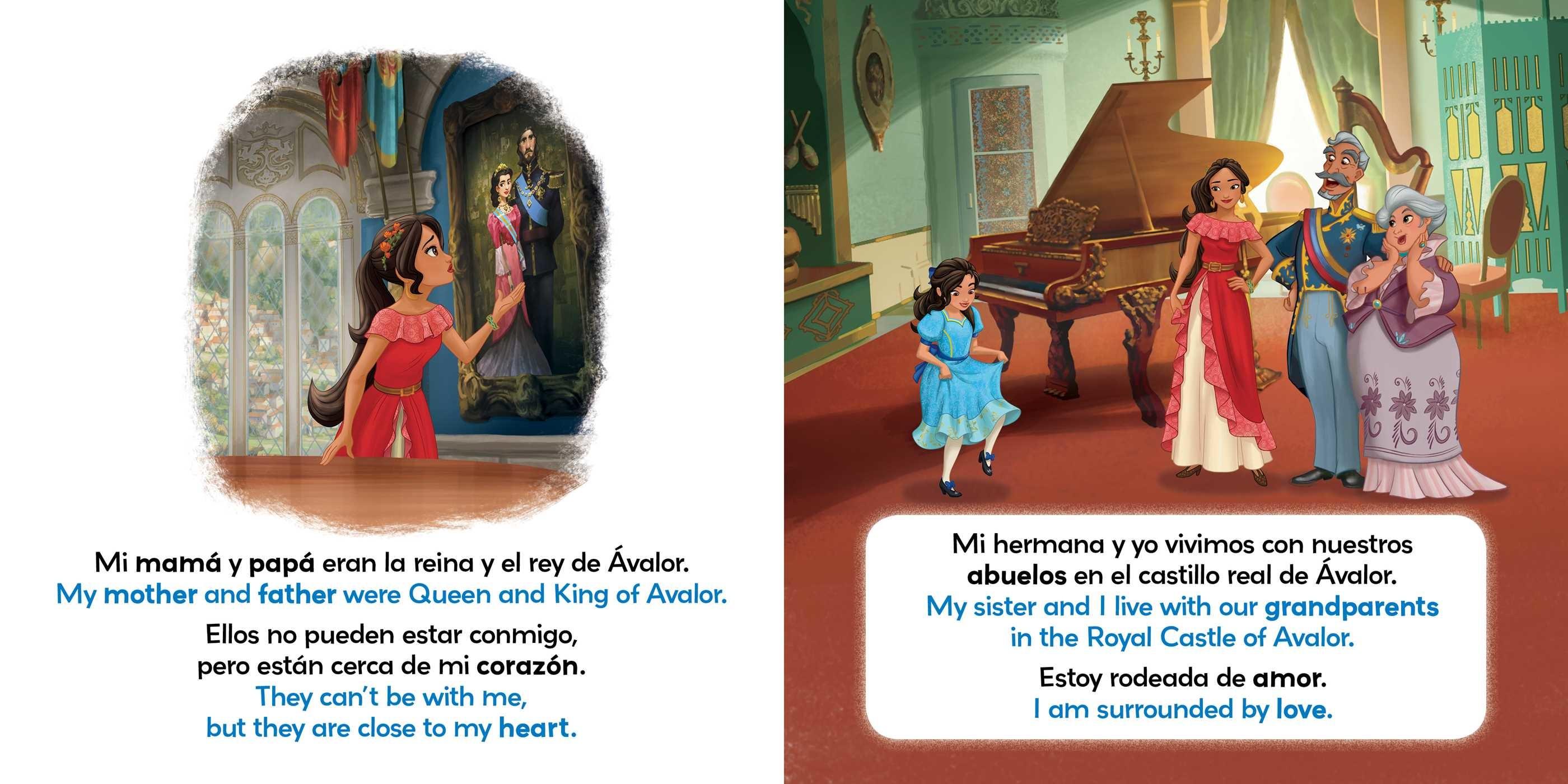 I Love My Family / Amo a mi familia (English-Spanish) (Disney Elena