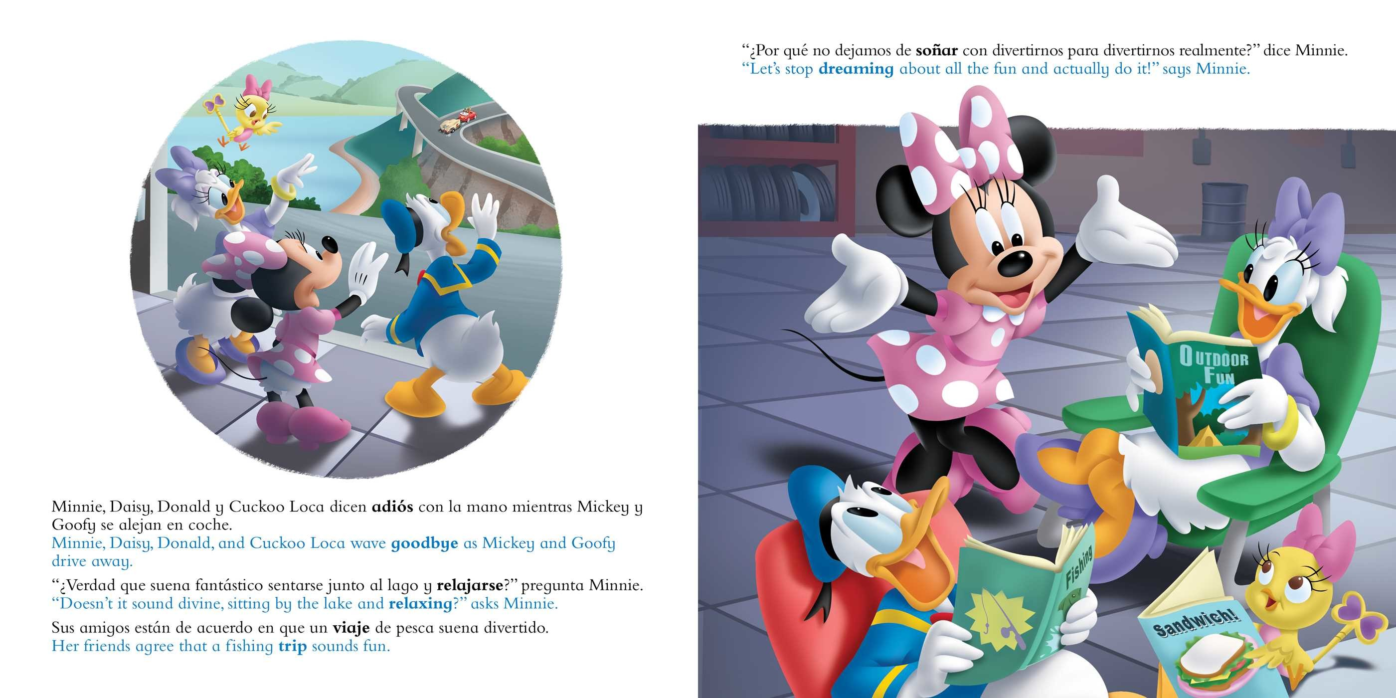 Catch that fish atrapa ese pez english spanish disney junior mickey and the roadster 9781499807974.in01