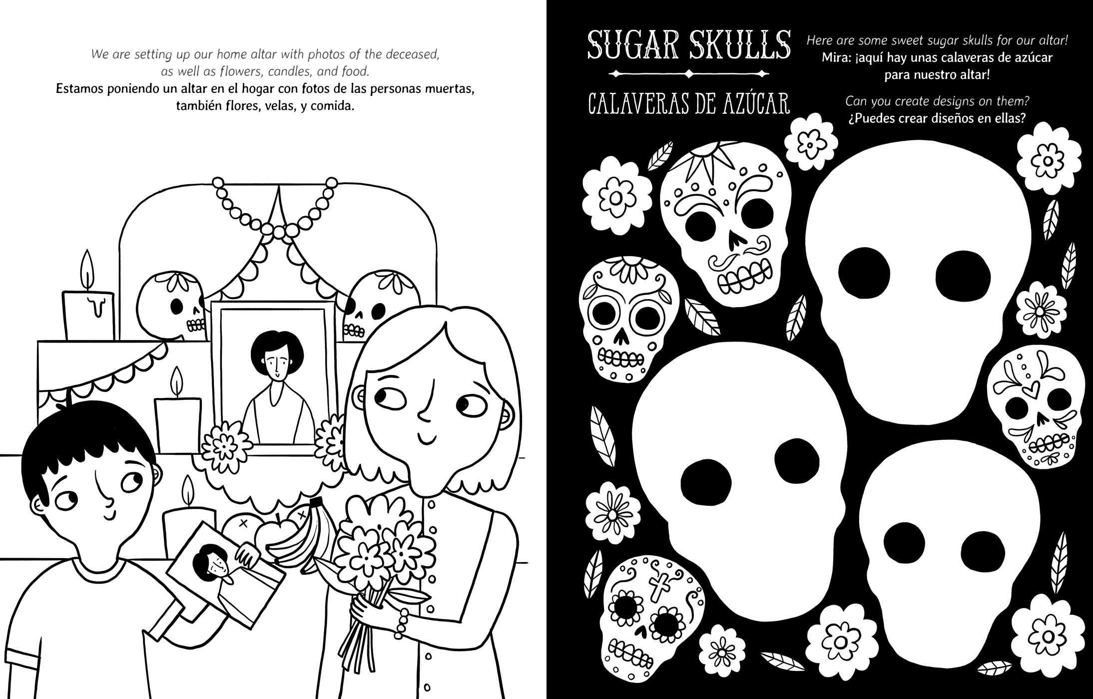 - Crayola Day Of The Dead/Día De Los Muertos Coloring Book Book By