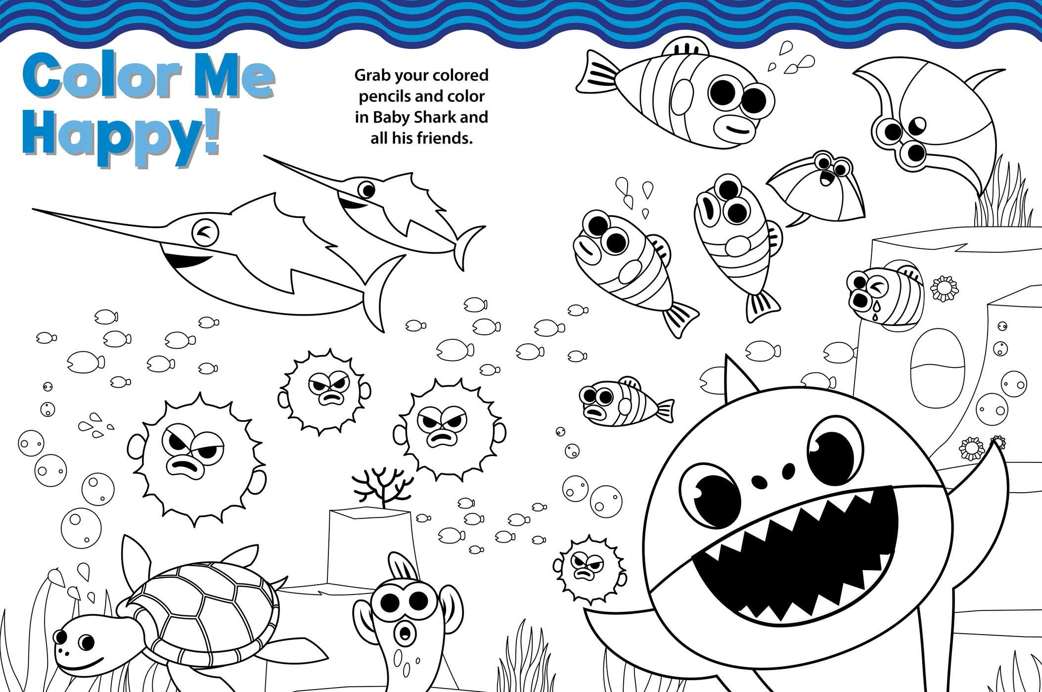 Pinkfong Baby Shark: Ultimate Sticker and Activity Book ...