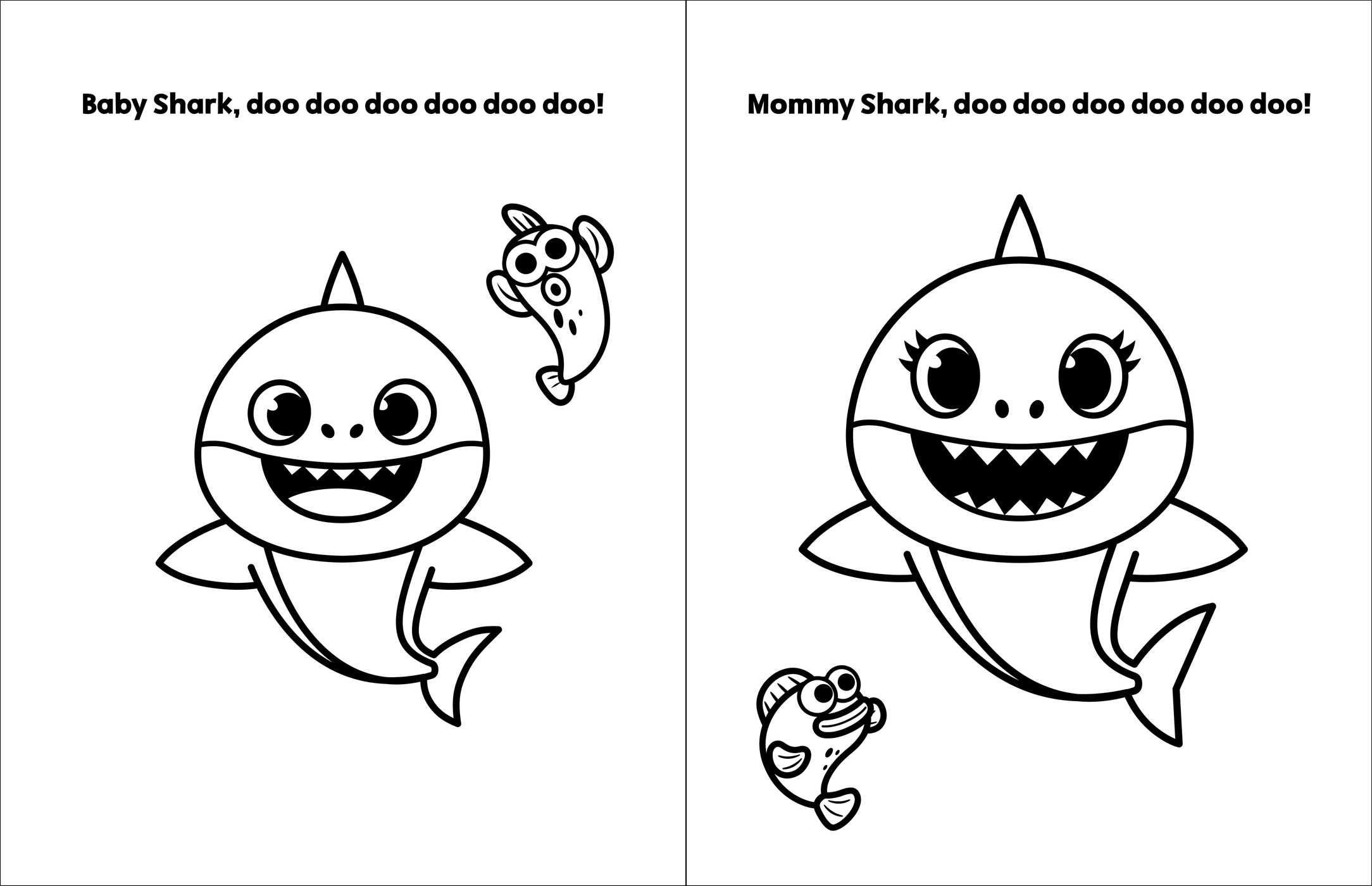 Pinkfong Baby Shark: My First Big Book of Coloring | Book ...