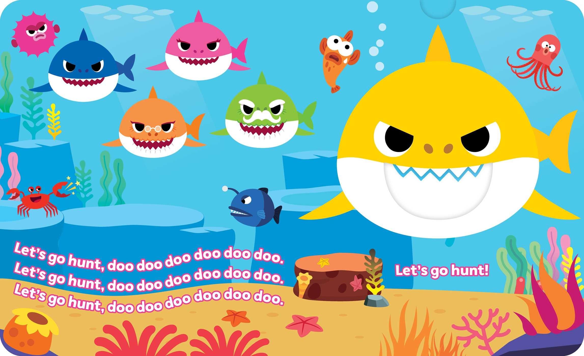 Pinkfong Baby Shark Chomp Crunchy Board Books Book By
