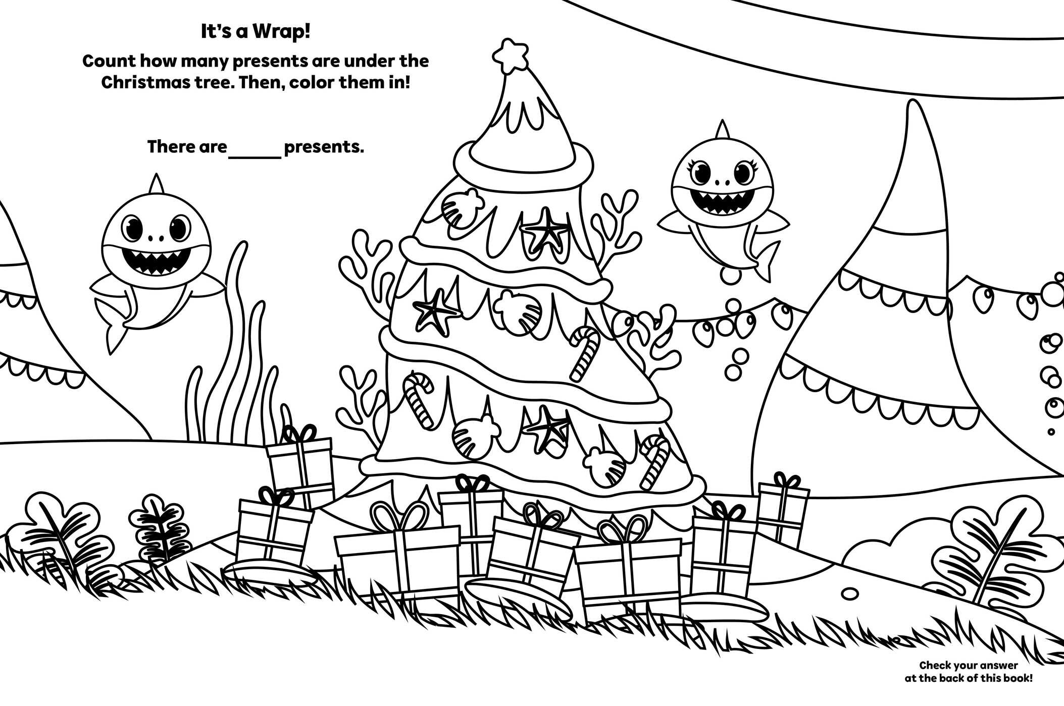 Pinkfong Baby Shark A Jaw Some Christmas Coloring And Sticker Book Book By Pinkfong Official Publisher Page Simon Schuster