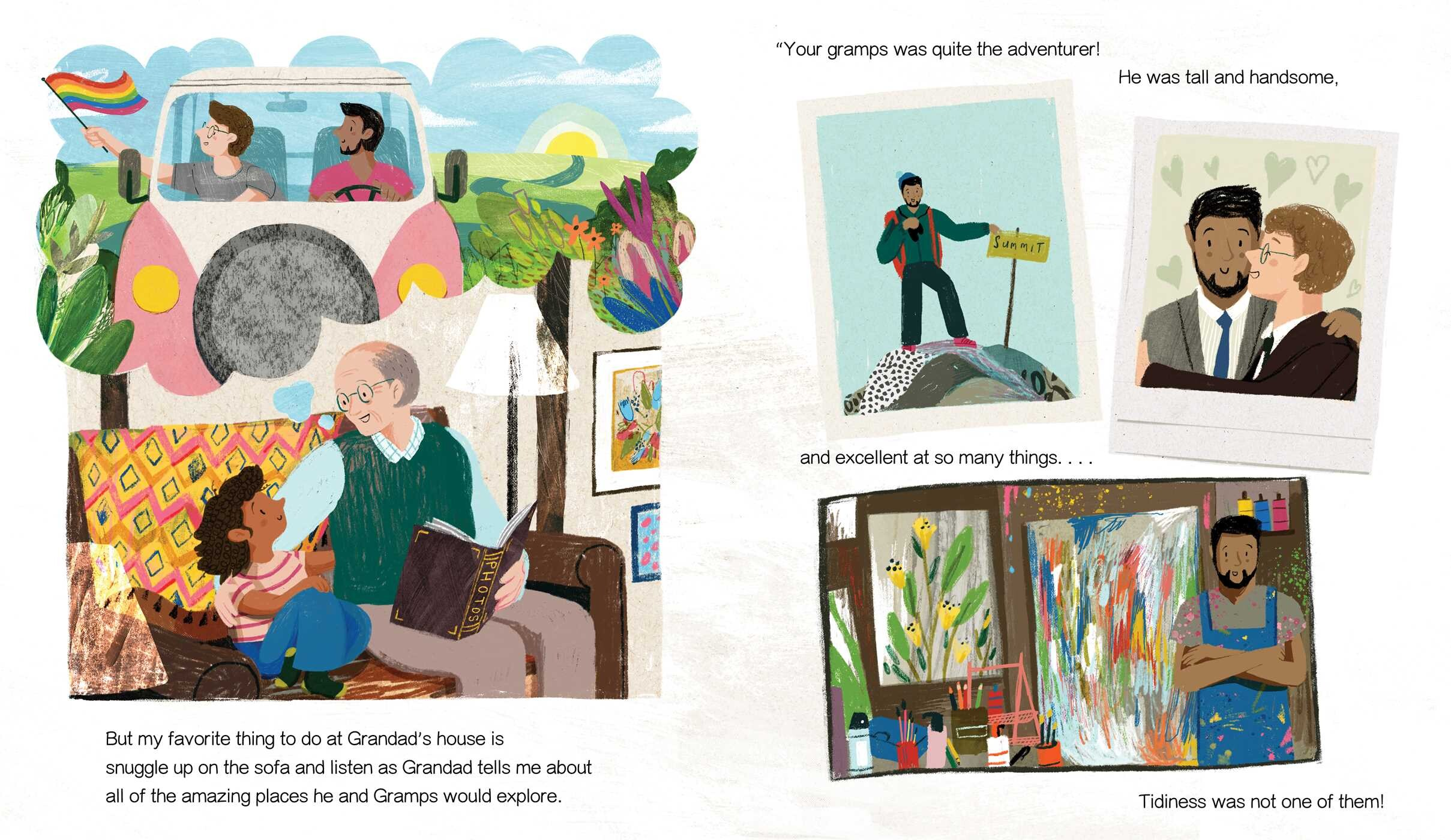 Grandad's Camper | Book by Harry Woodgate | Official Publisher Page | Simon  & Schuster