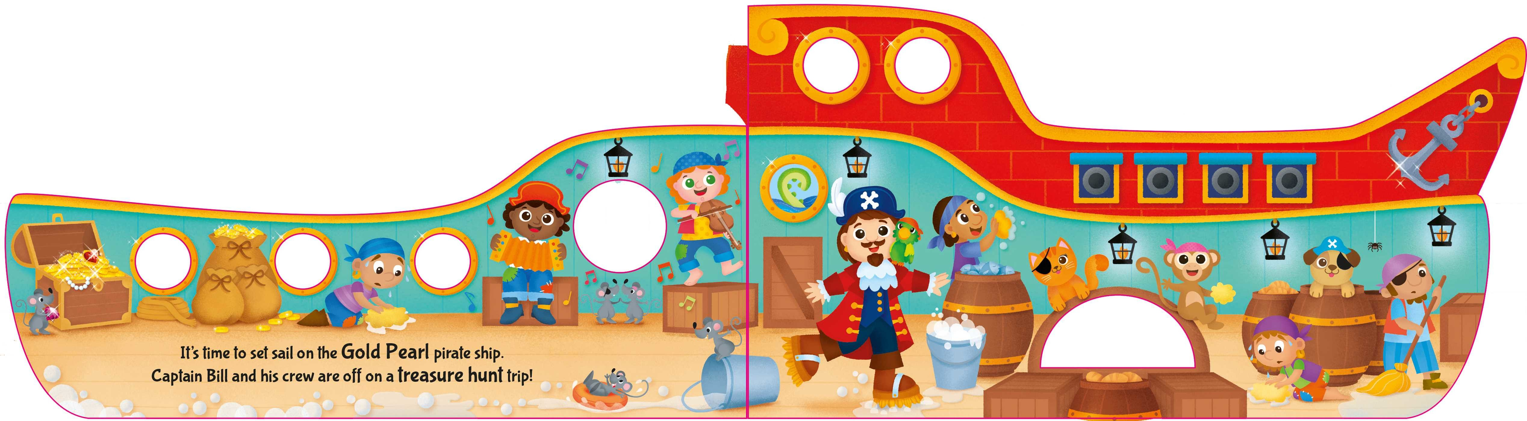 Pirate ship 9781499880656.in01