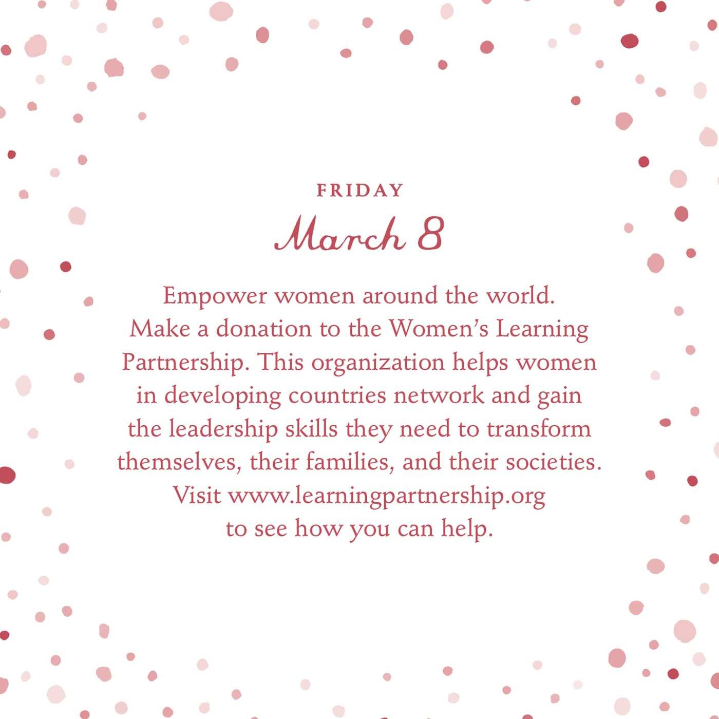 Simple acts of kindness 2019 daily calendar 9781507207772.in06