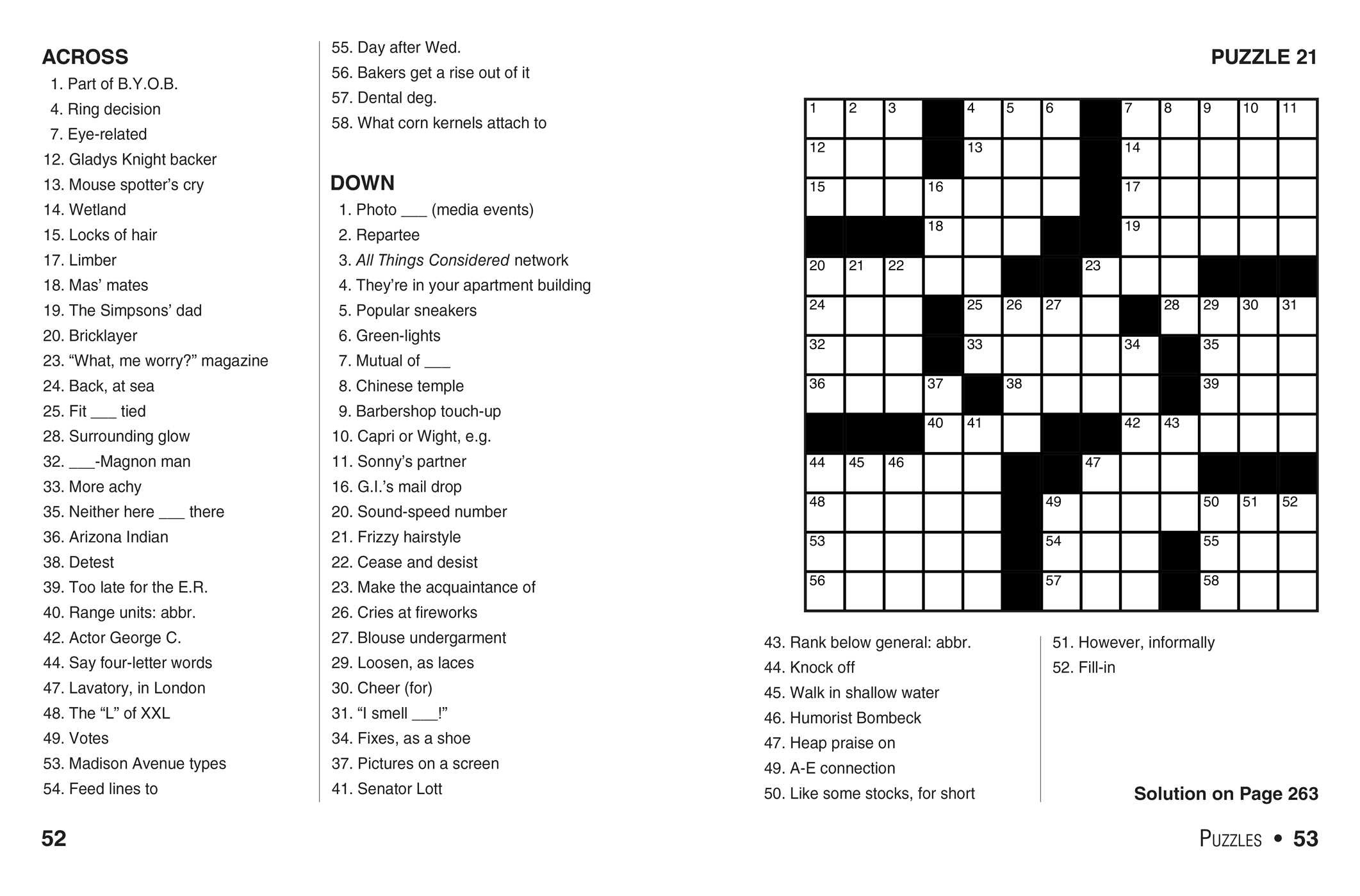 photo about Bible Crossword Puzzles Printable With Answers identify The Anything Very simple Massive-Print Crosswords Guide, Amount 8