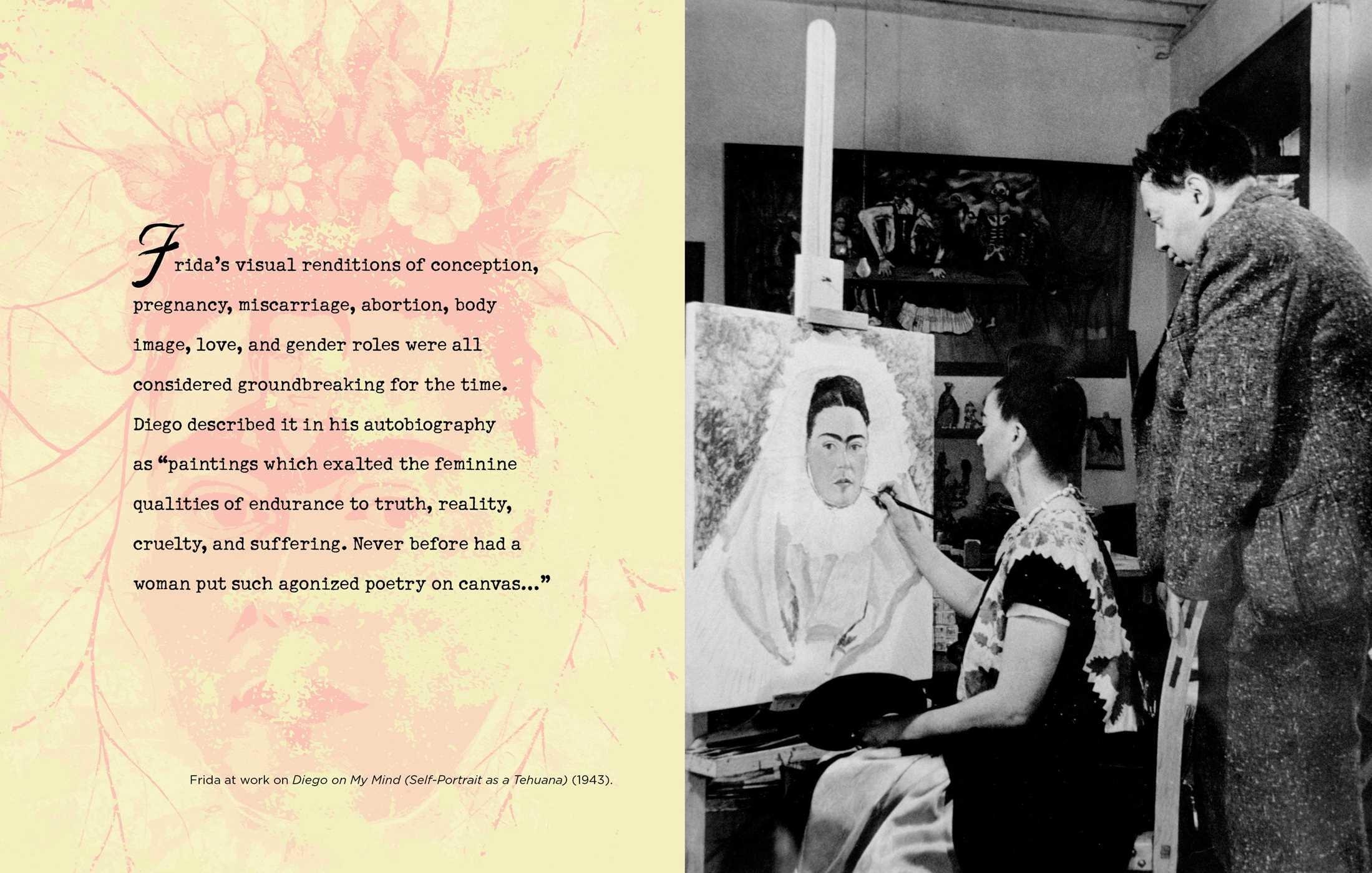 Forever Frida: A Celebration of the Life and Style of Frida Kahlo Loves Words Art