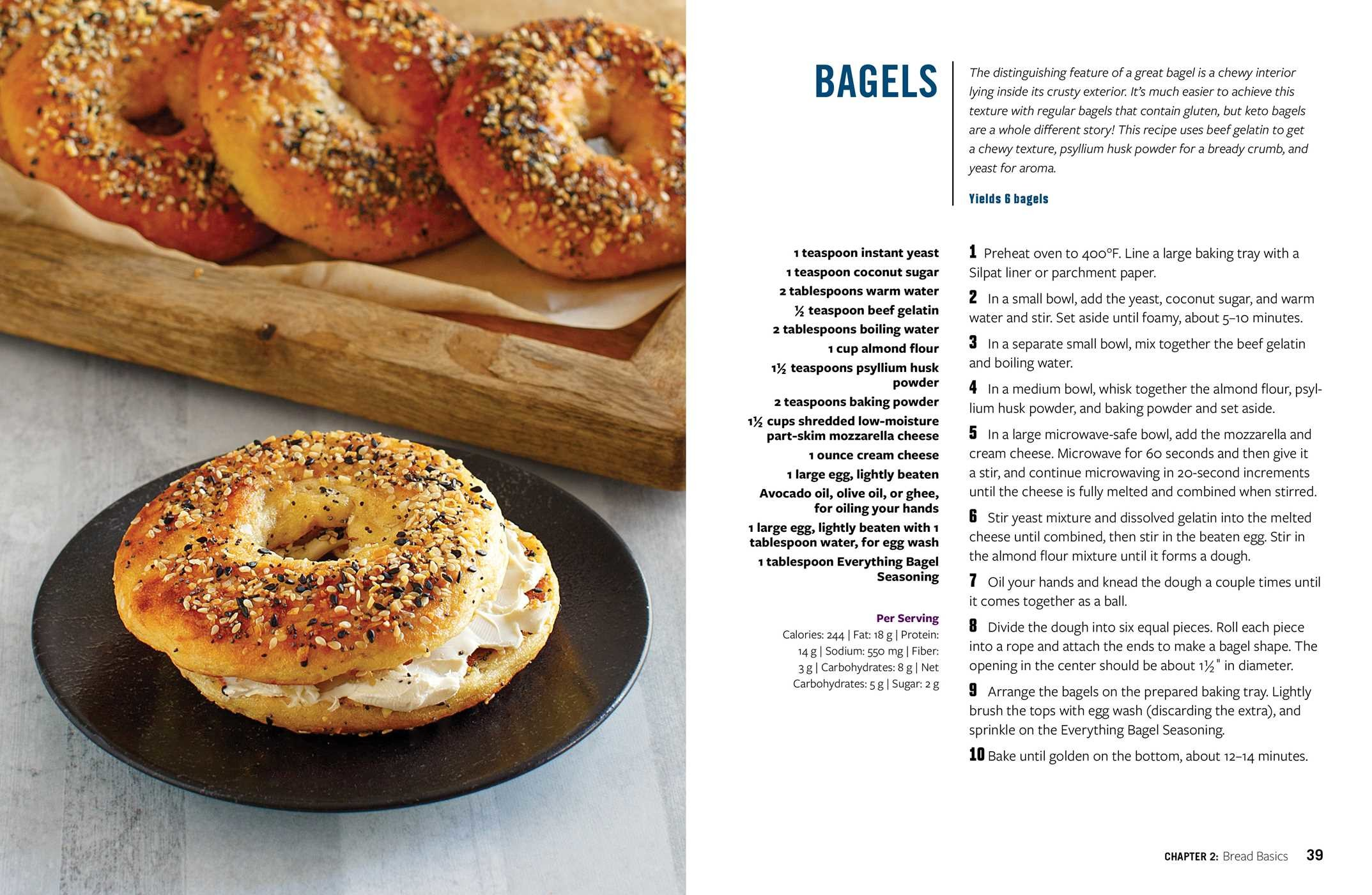Keto Bread | Book by Faith Gorsky, Lara Clevenger | Official