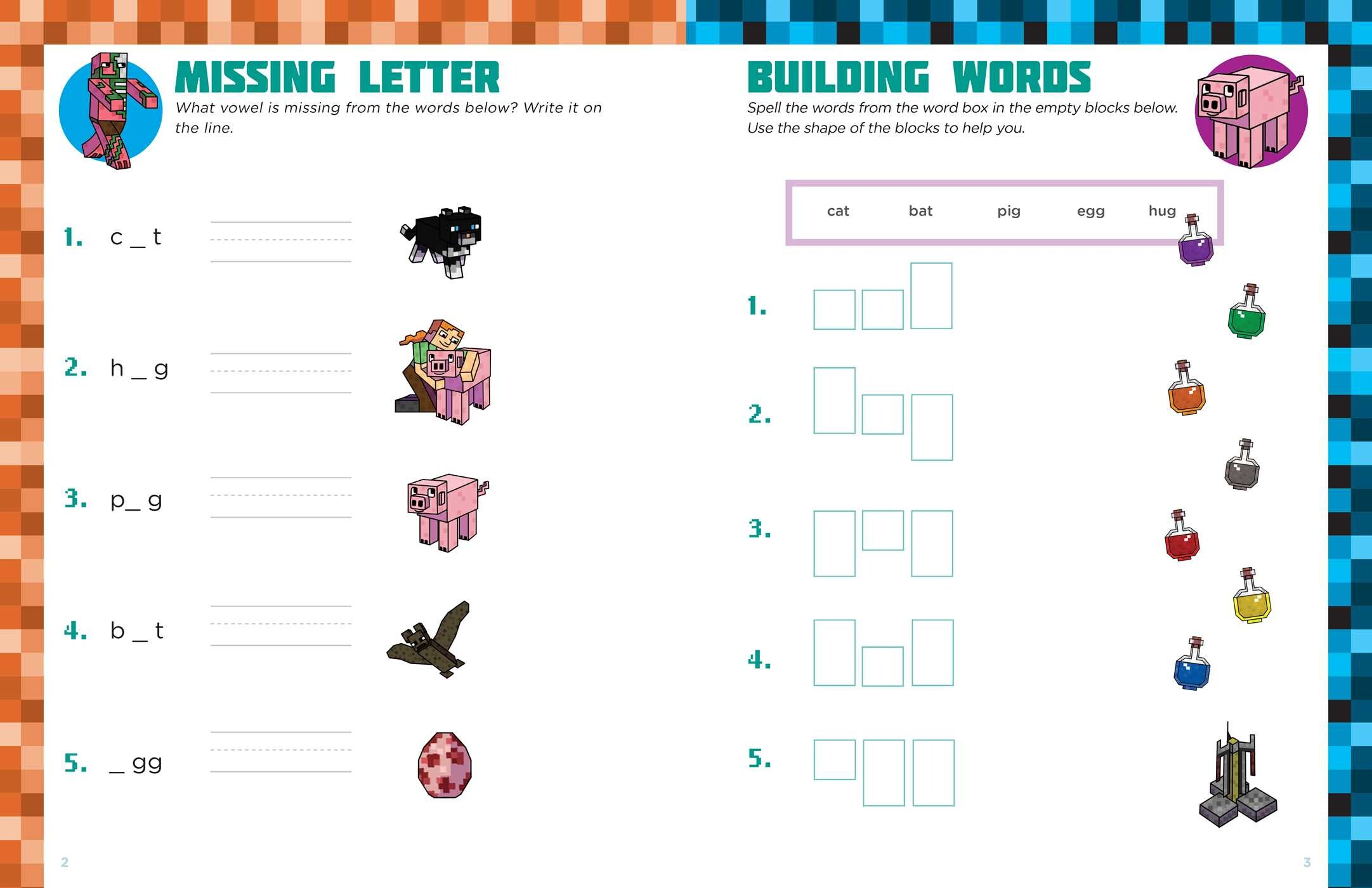 Grade 4 Spelling for Minecrafters