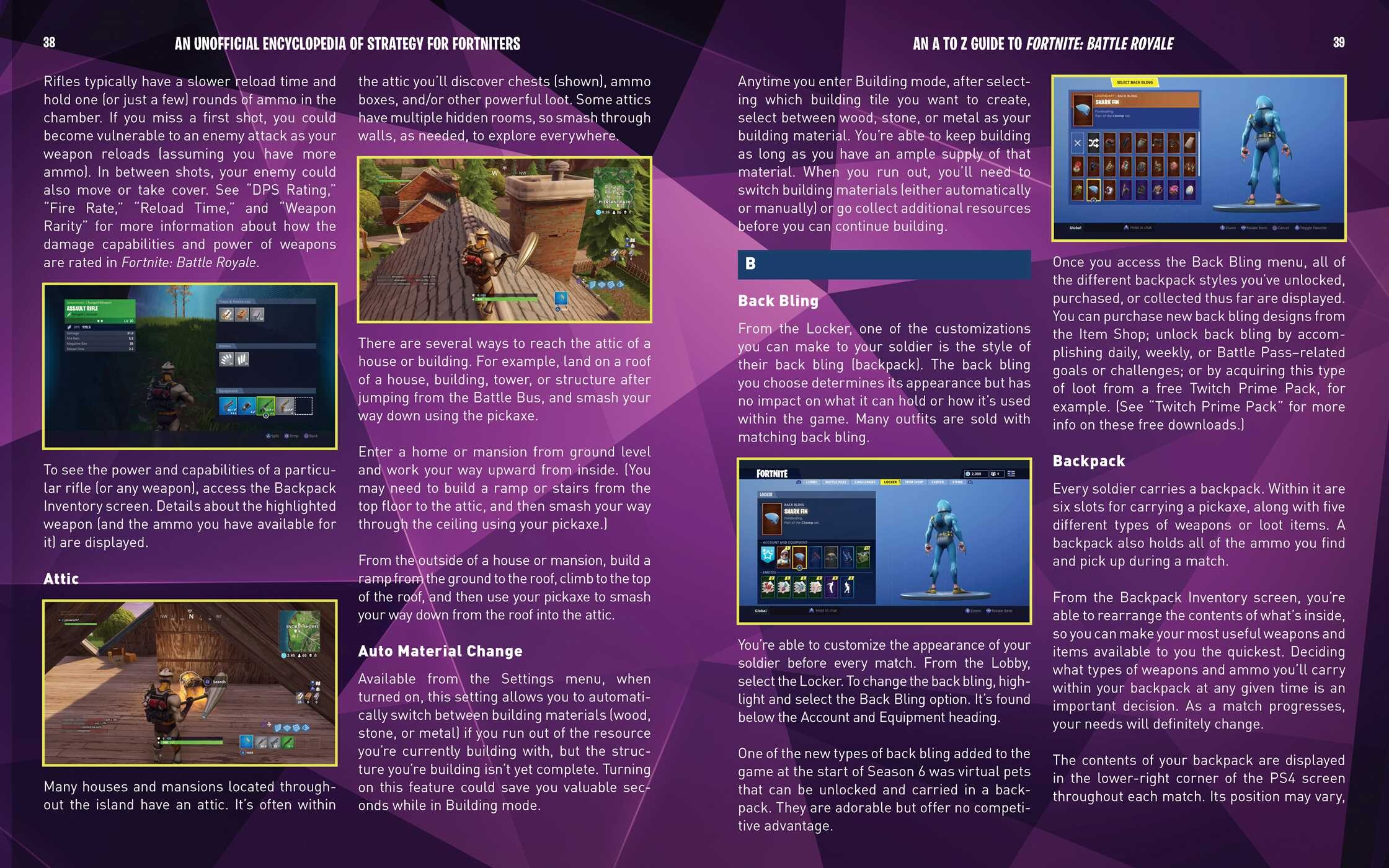 unofficial encyclopedia of strategy for fortniters battle royale for noobs - fortnite encyclopedia