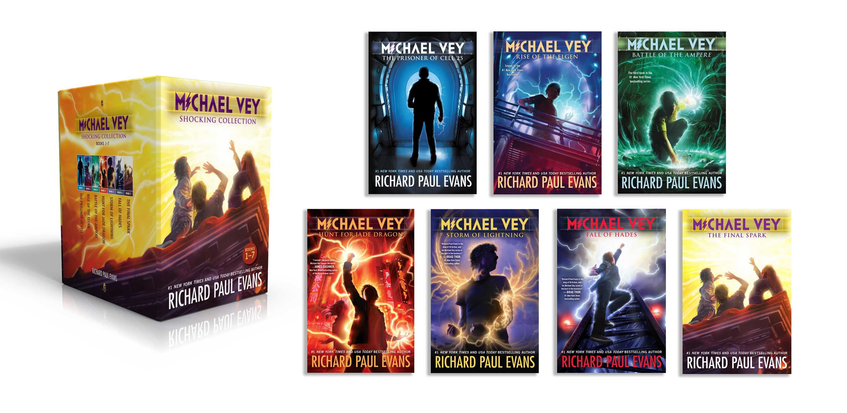 Michael vey shocking collection books 1 7 9781534400078.in01