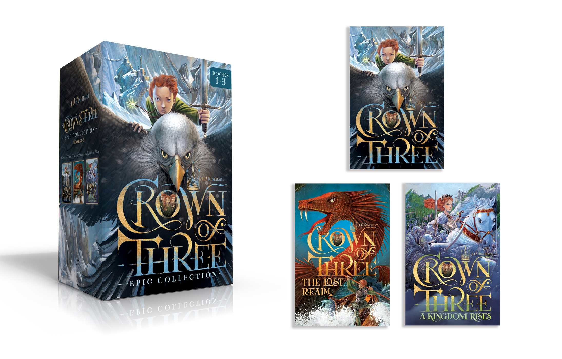 Crown of three epic collection books 1 3 9781534400320.in01