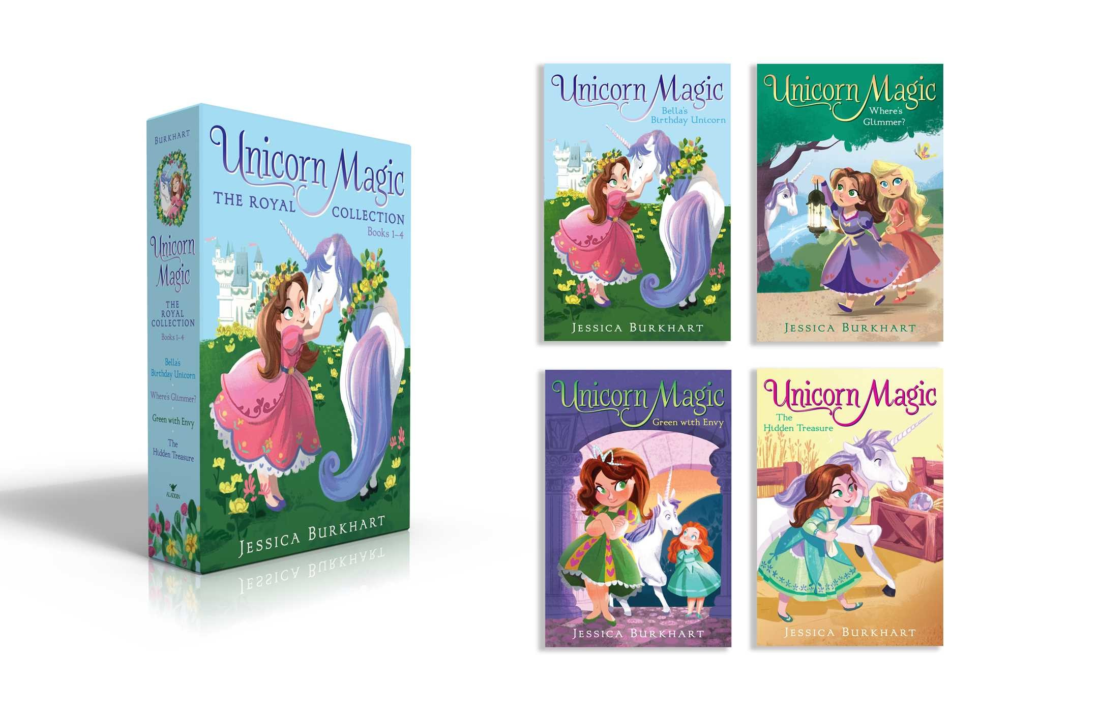 Unicorn magic the royal collection books 1 4 9781534406186.in01