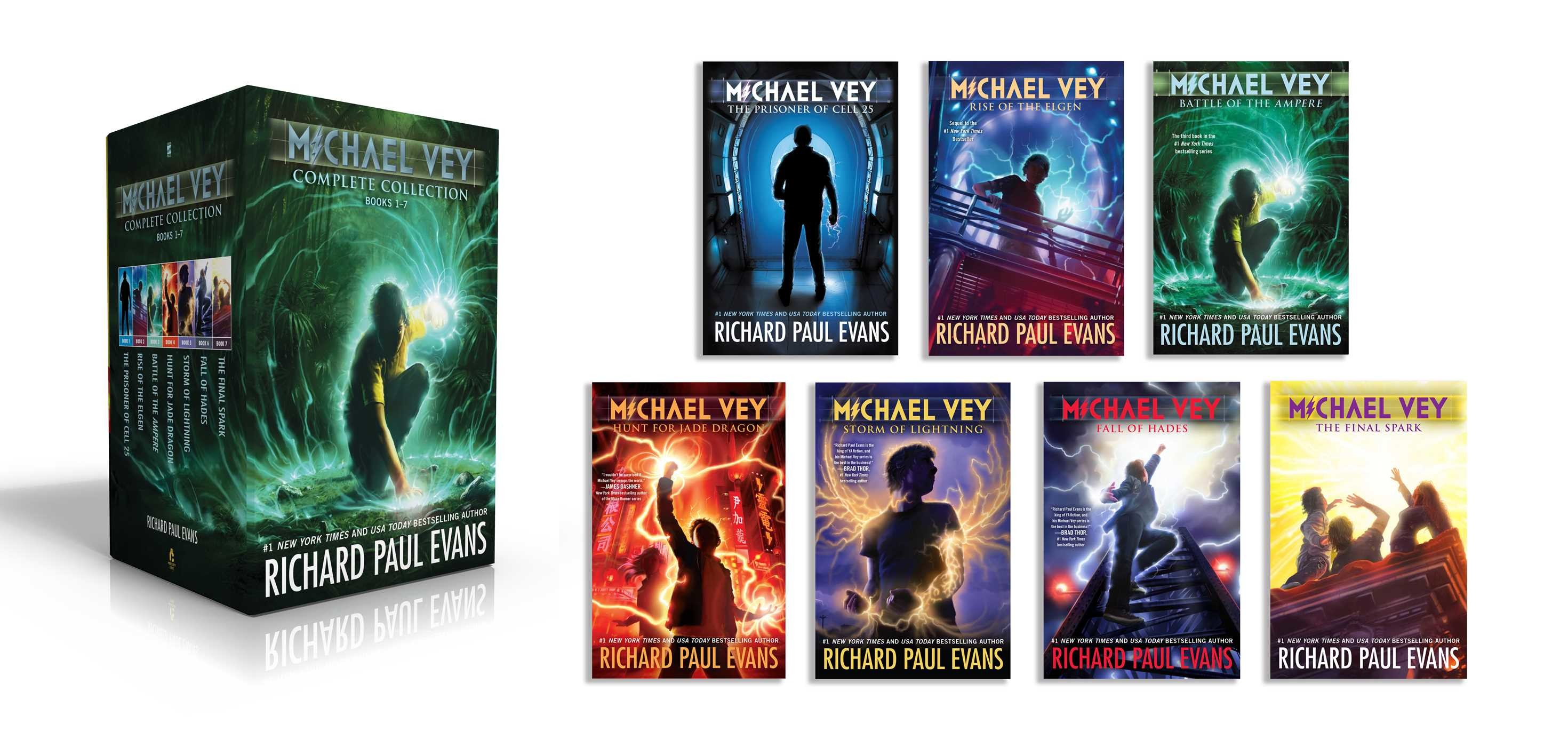 Michael vey complete collection books 1 7 9781534416208.in01