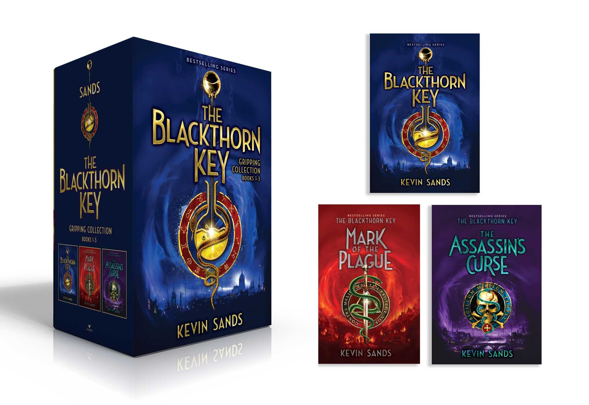 The blackthorn key gripping collection books 1 3 9781534416321.in01