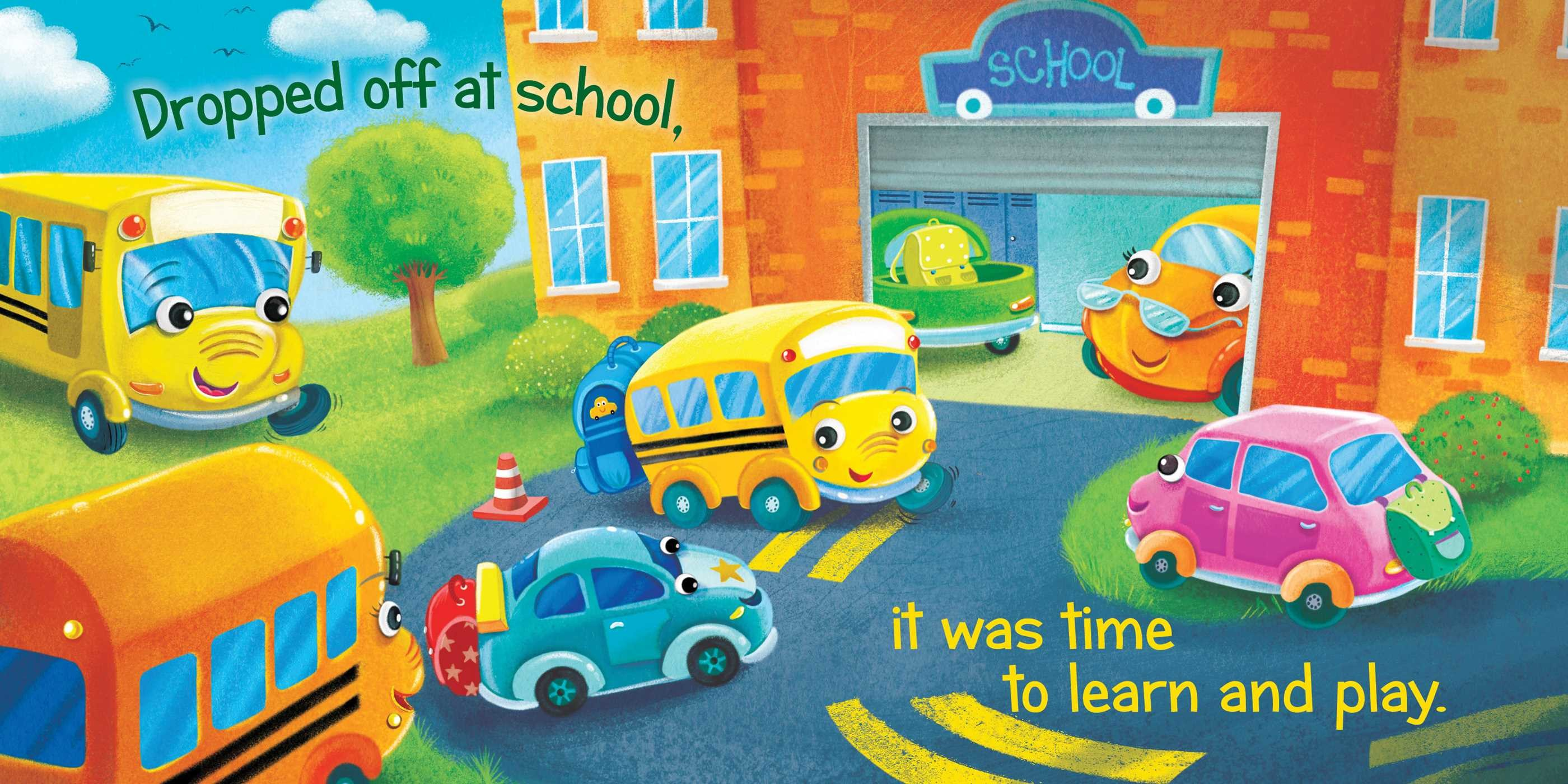 The itsy bitsy school bus 9781534416956.in01