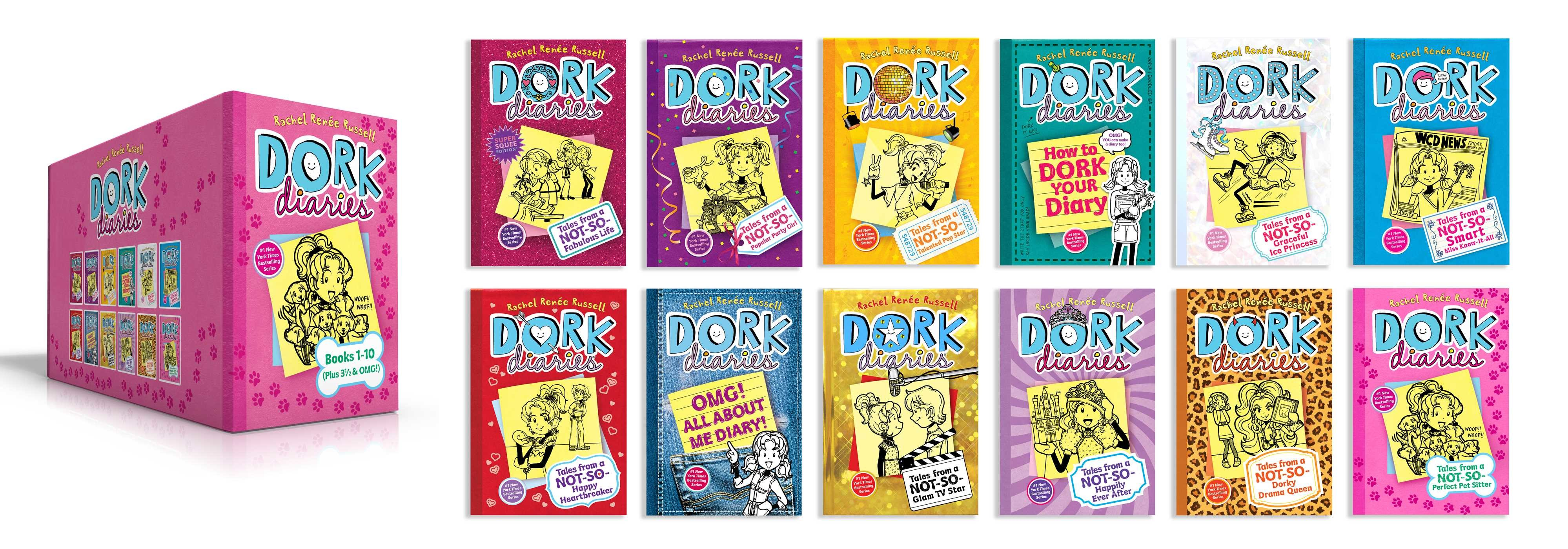 Dork diaries books 1 10 plus 3 1 2 omg 9781534424593.in01