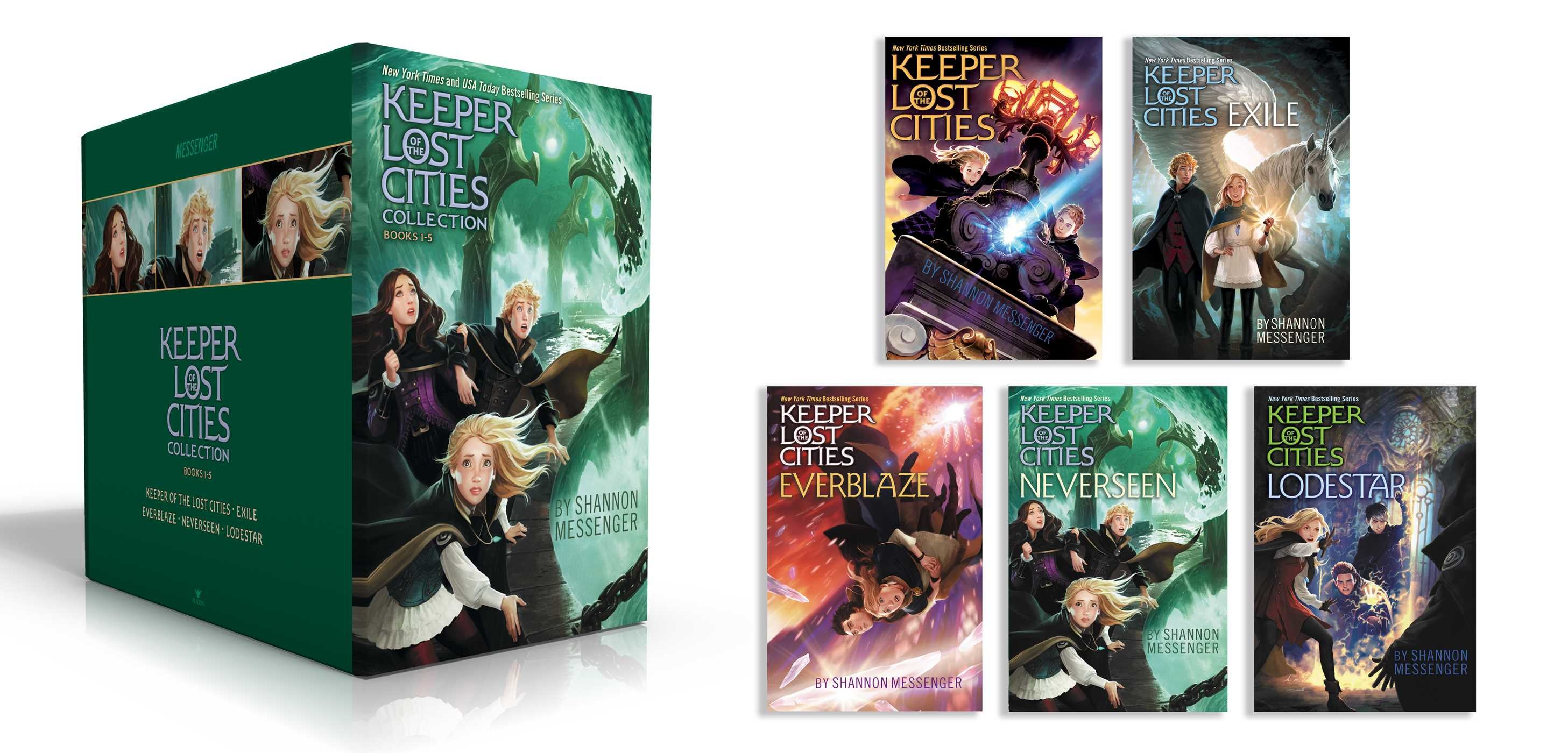 Keeper of the lost cities collection books 1 5 9781534428508.in01