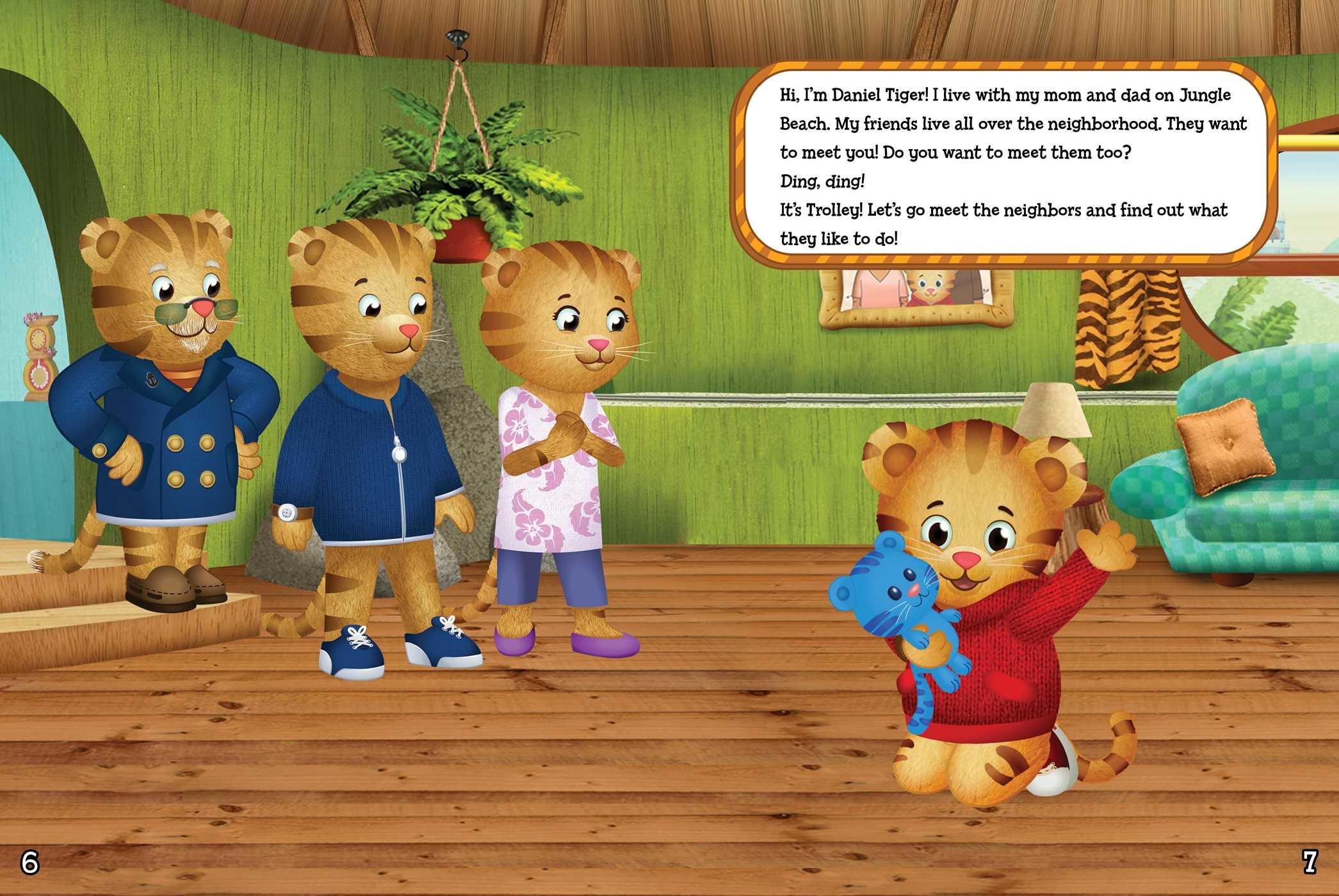 Daniel tigers 3 minute bedtime stories 9781534428591.in01