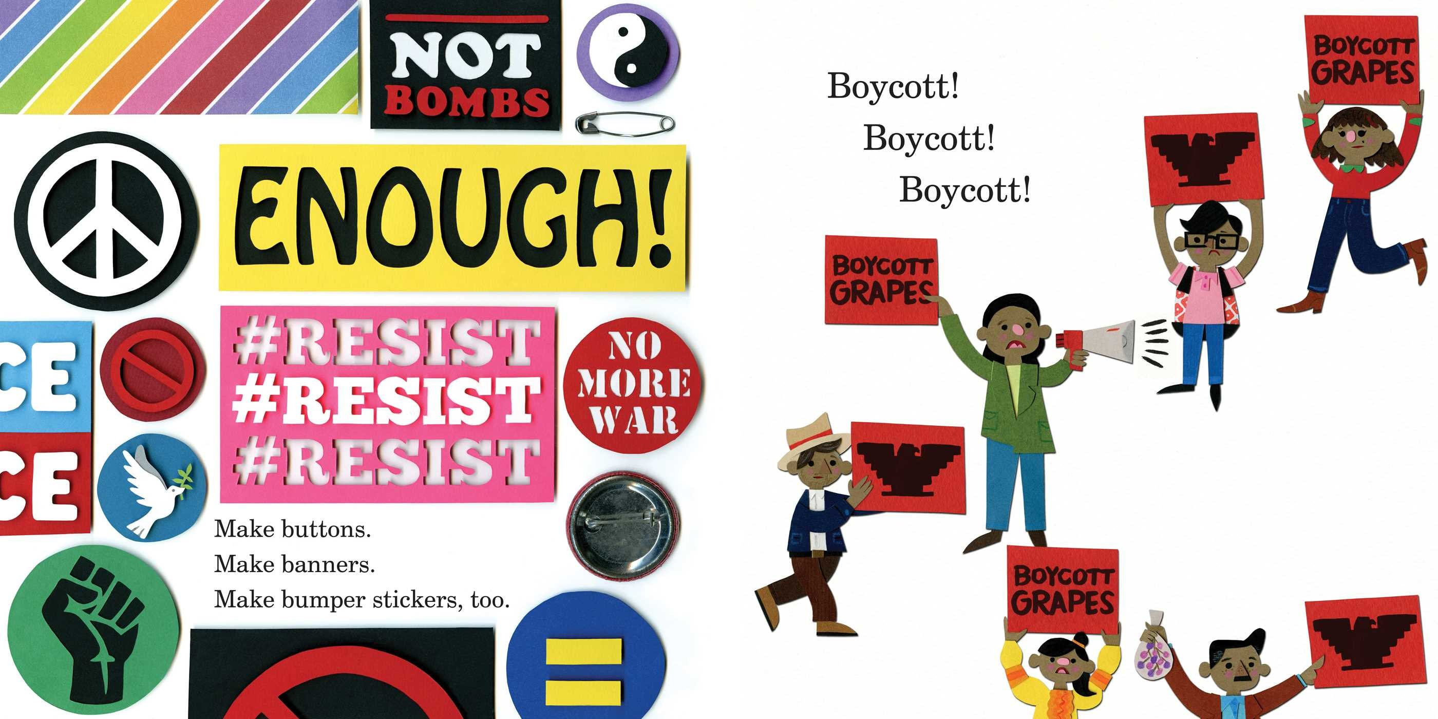 Peaceful fights for equal rights 9781534429437.in02