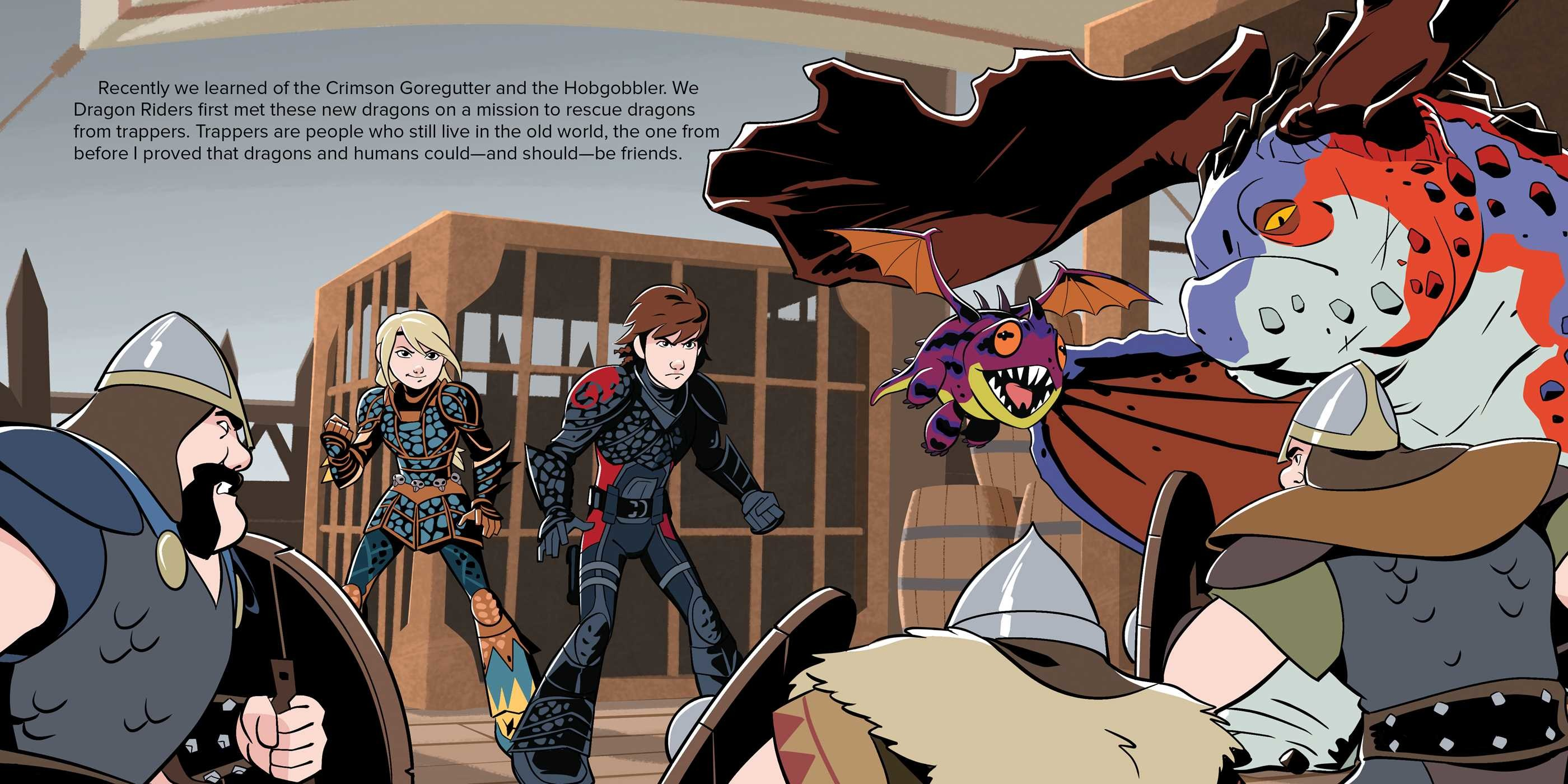 Video's van How to train your dragon book