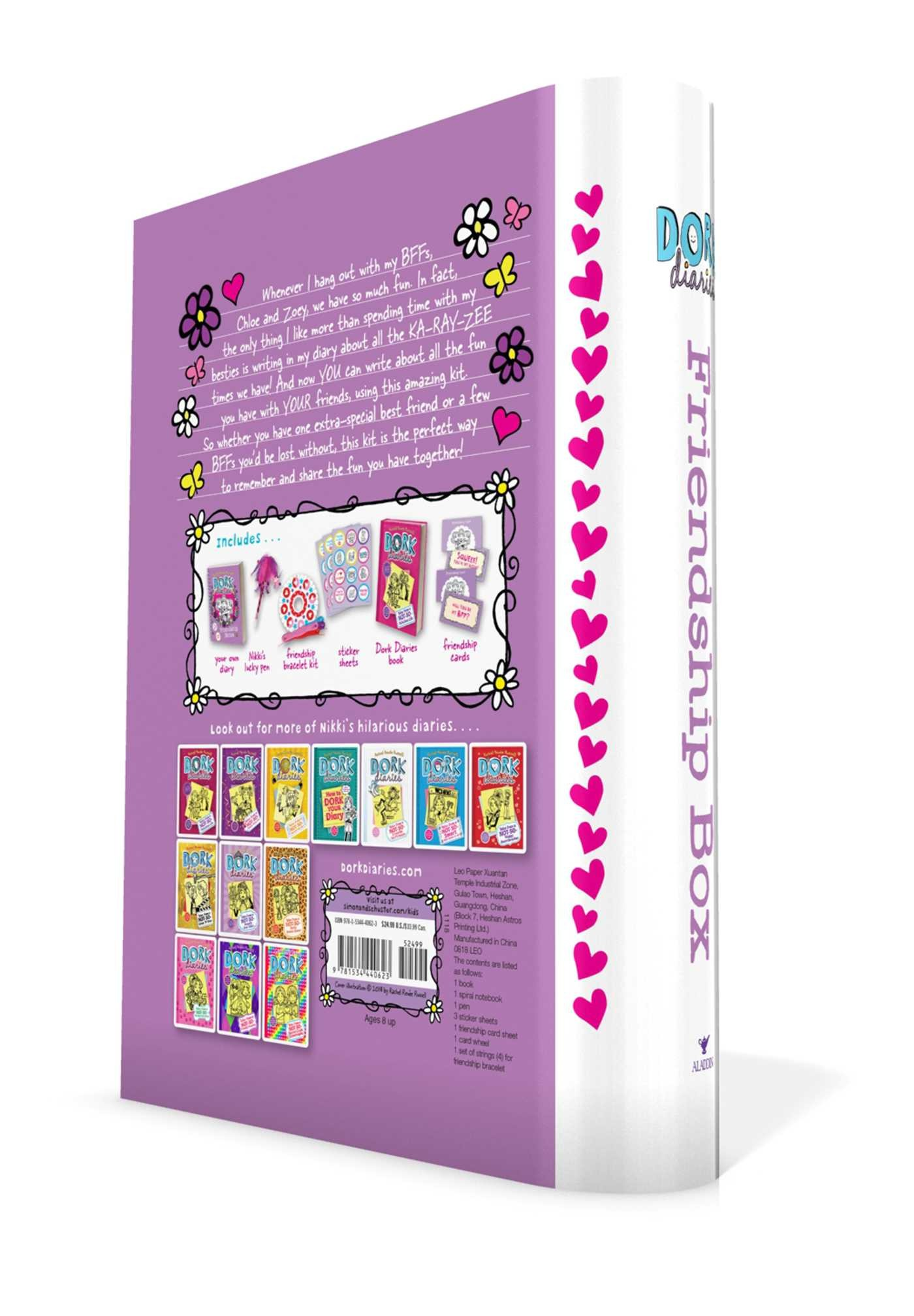 Dork diaries friendship box 9781534440623.in02