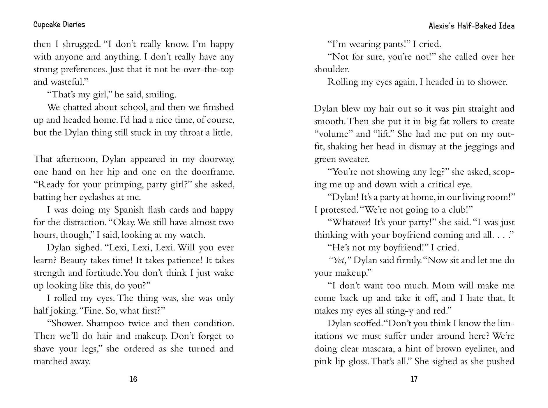 Alexis's Half-Baked Idea | Book by Coco Simon, Tracy Bishop