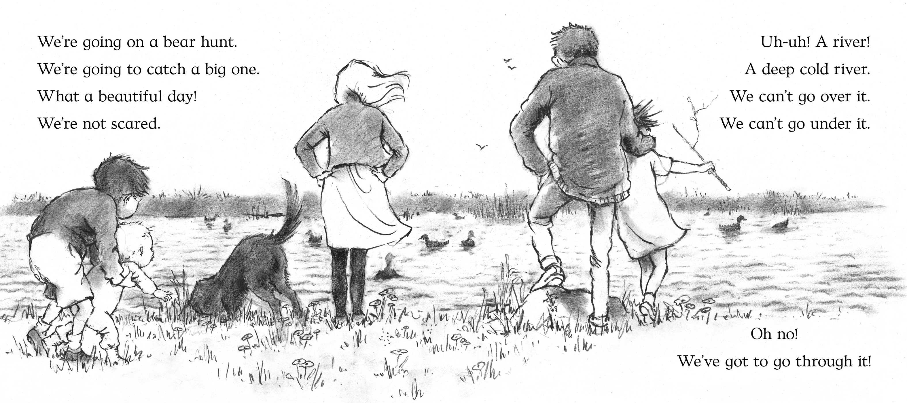 We're Going on a Bear Hunt   Book by Michael Rosen, Helen ...