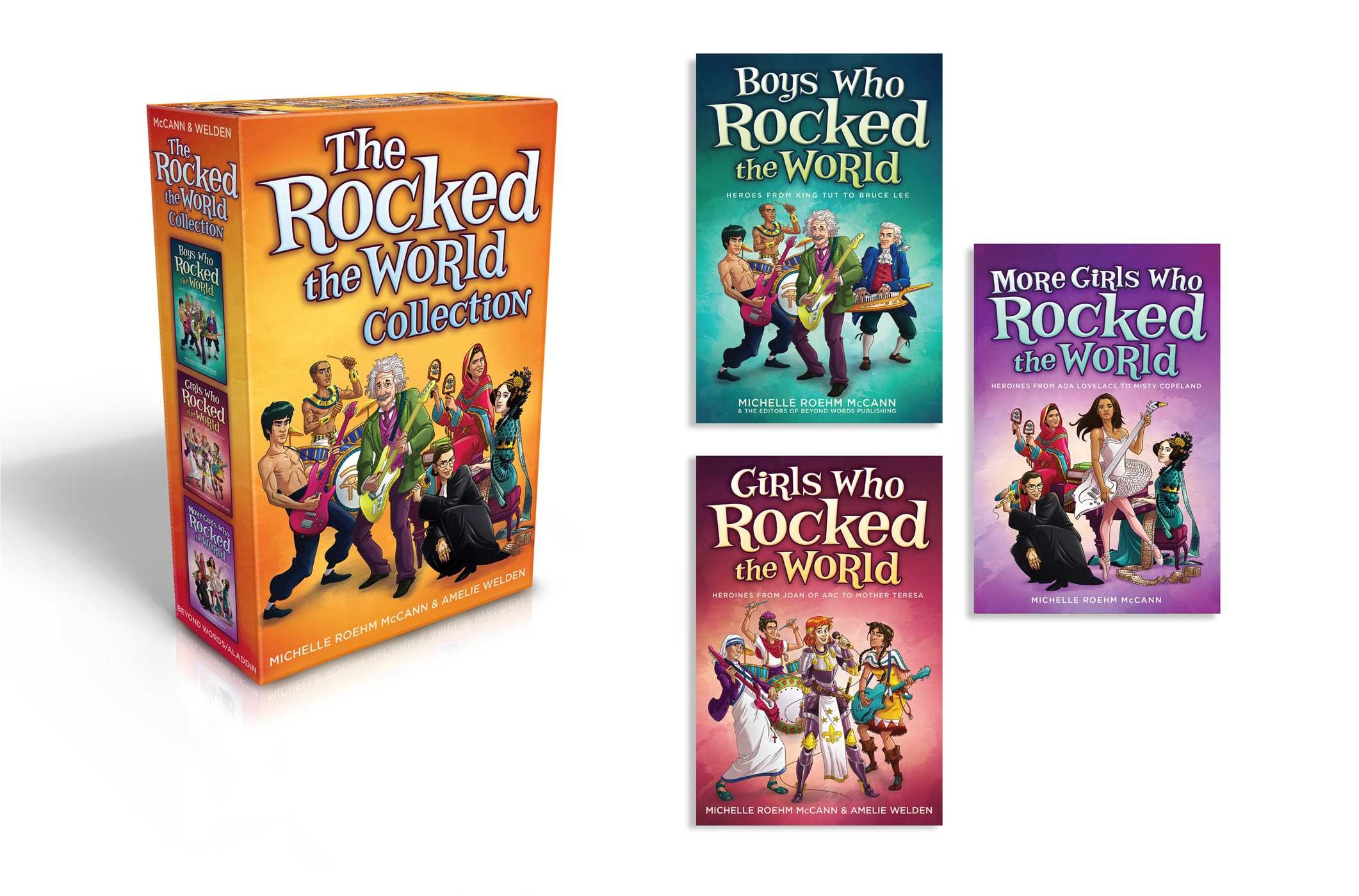 The rocked the world collection 9781582706795.in01