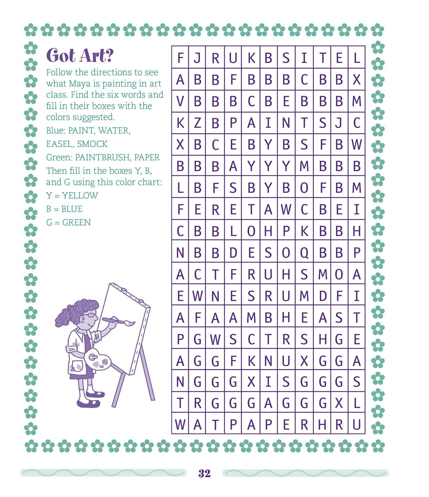 the everything kids word search puzzle and activity book book by
