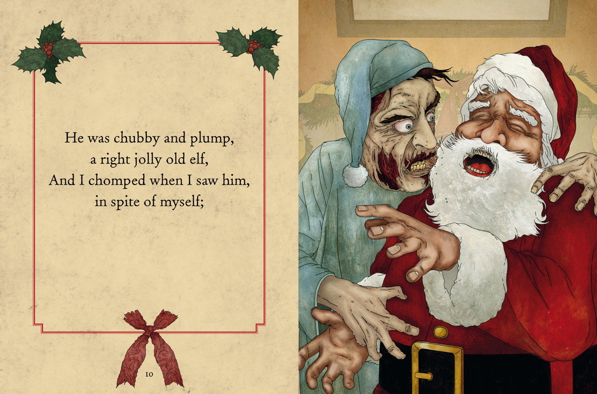 The Zombie Night Before Christmas | Book by Cider Mill Press ...