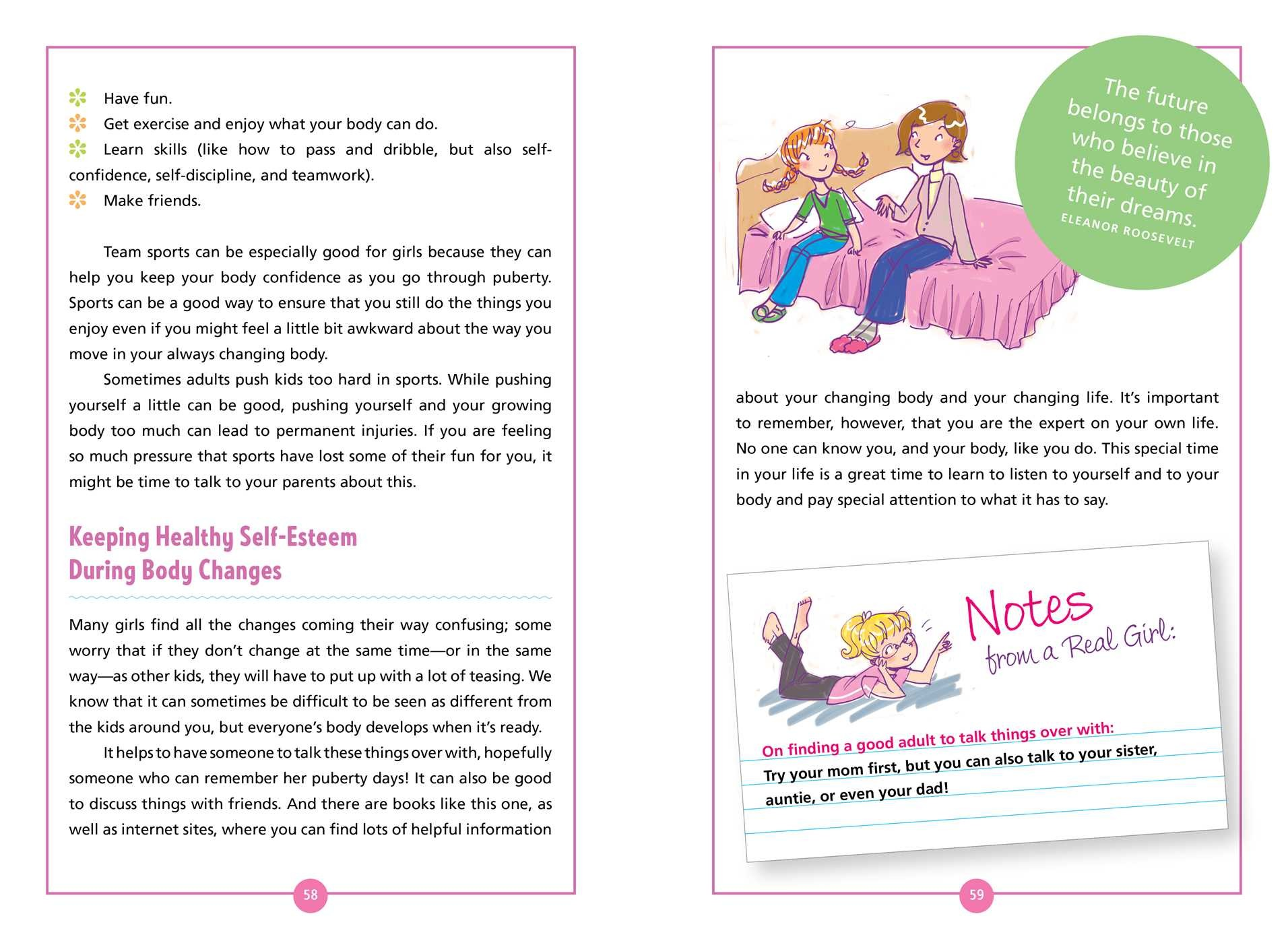 The Girls Body Book | Book by Kelli Dunham, Laura Tallardy
