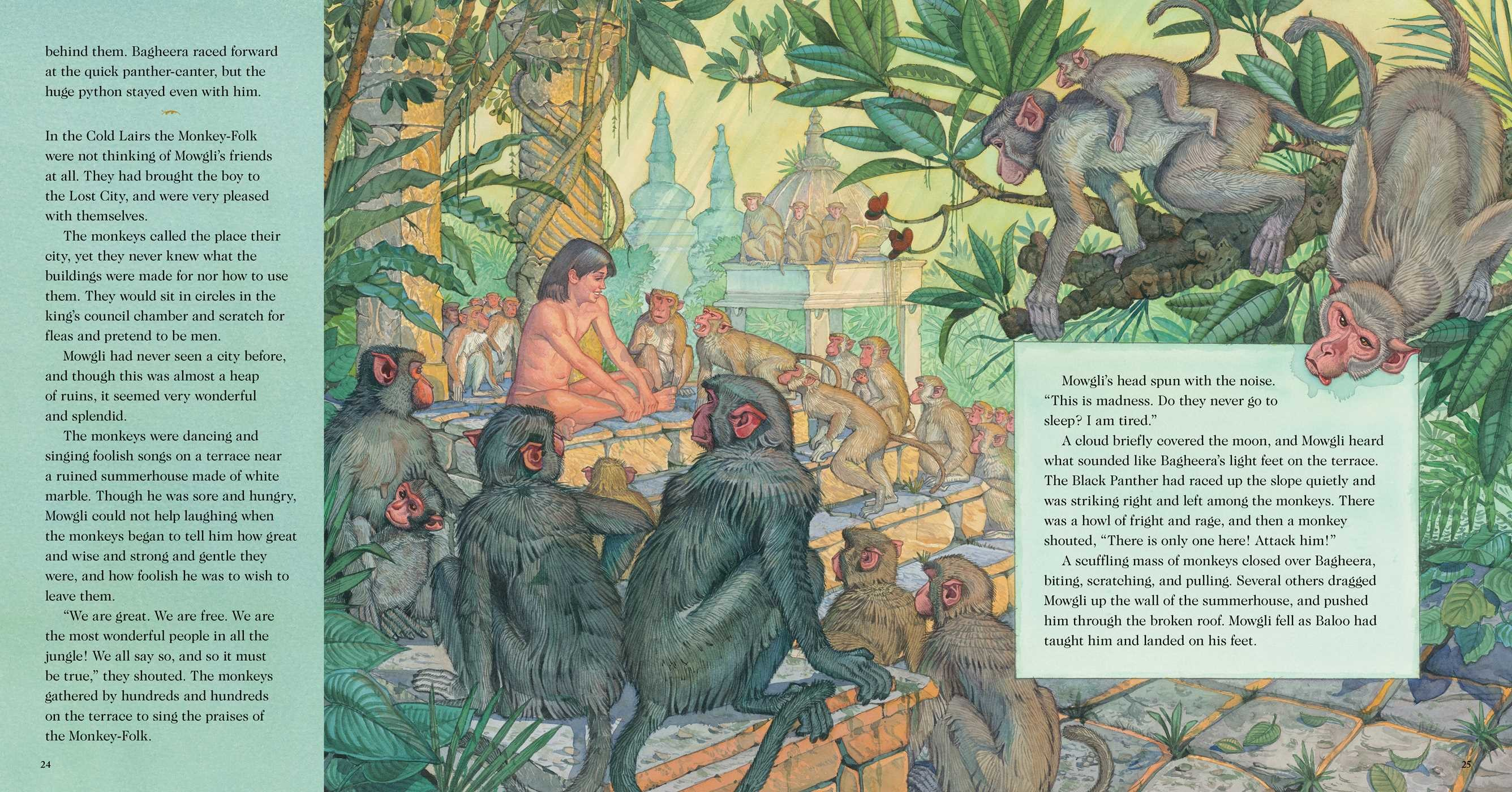 The Jungle Book  Book By Rudyard Kipling, Don Daily -5028