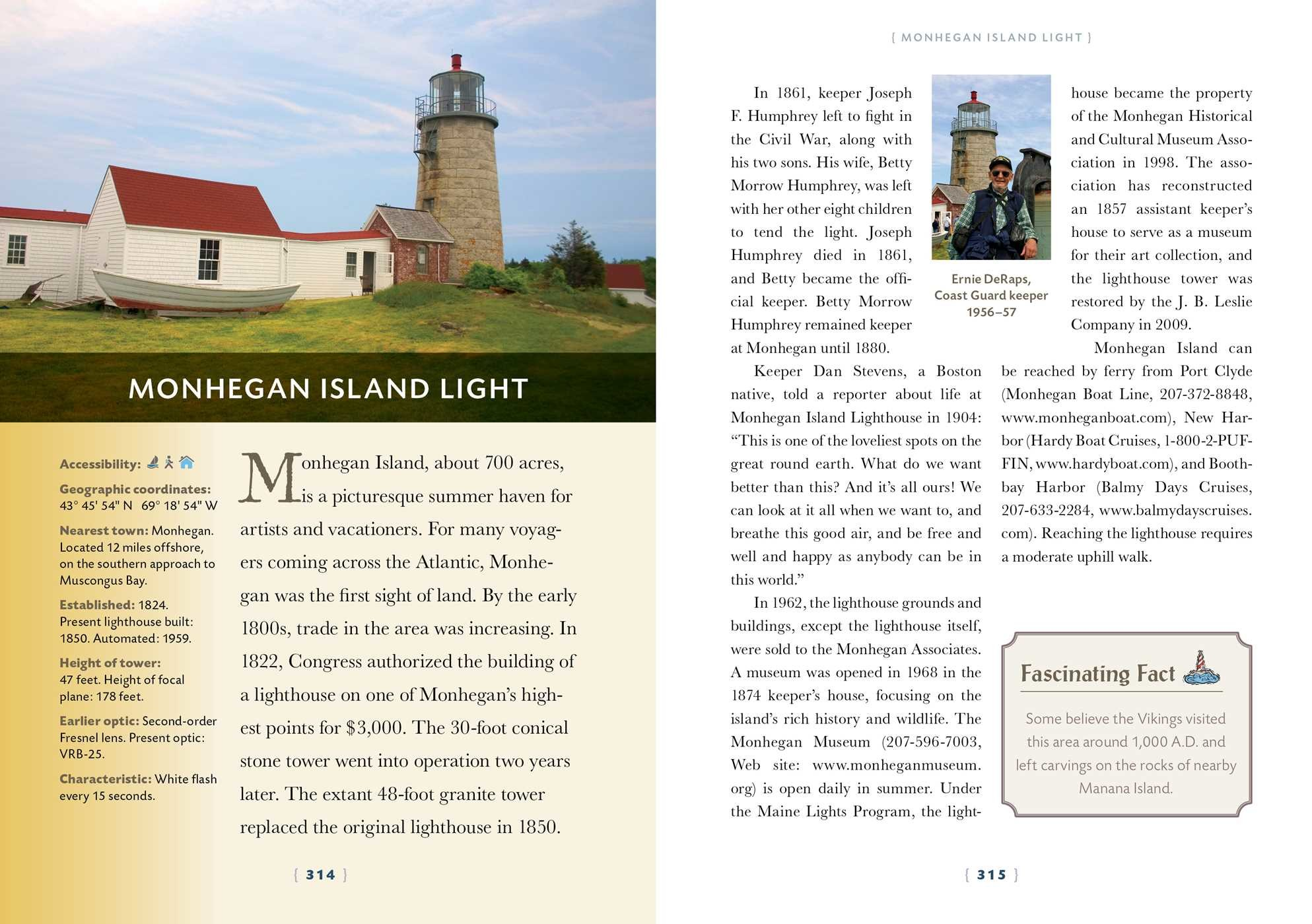67adb8ca9 The Lighthouse Handbook New England: 3rd Edition | Book by Jeremy D ...