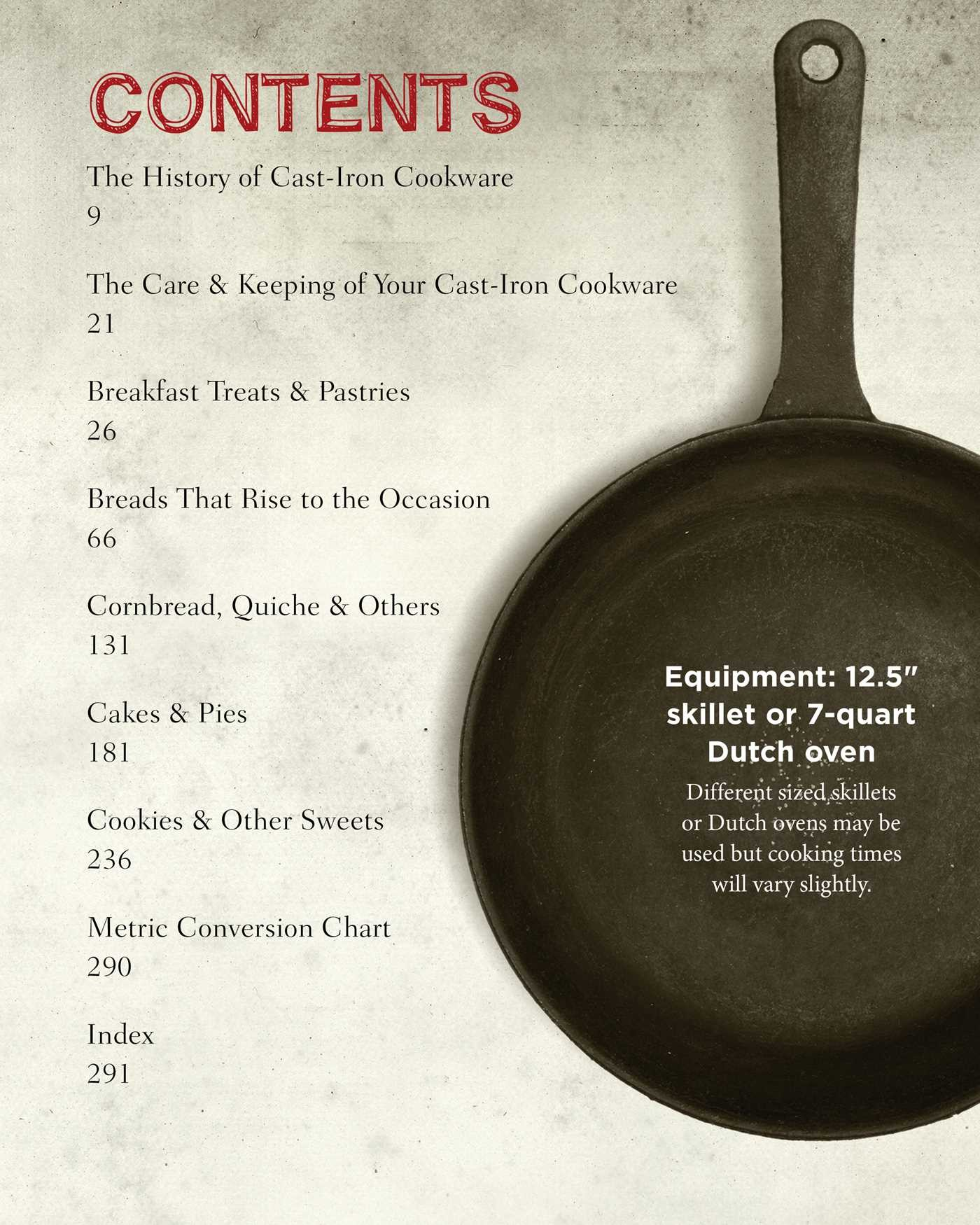 The cast iron baking book 9781604336528.in01