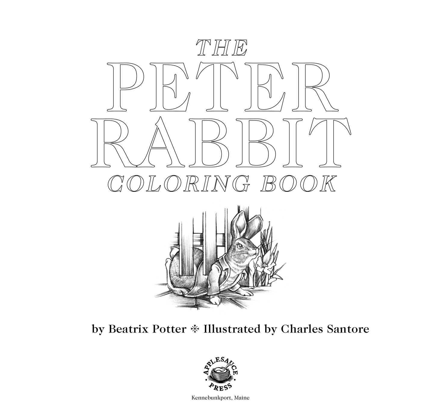 Beatrix Potter Coloring Book