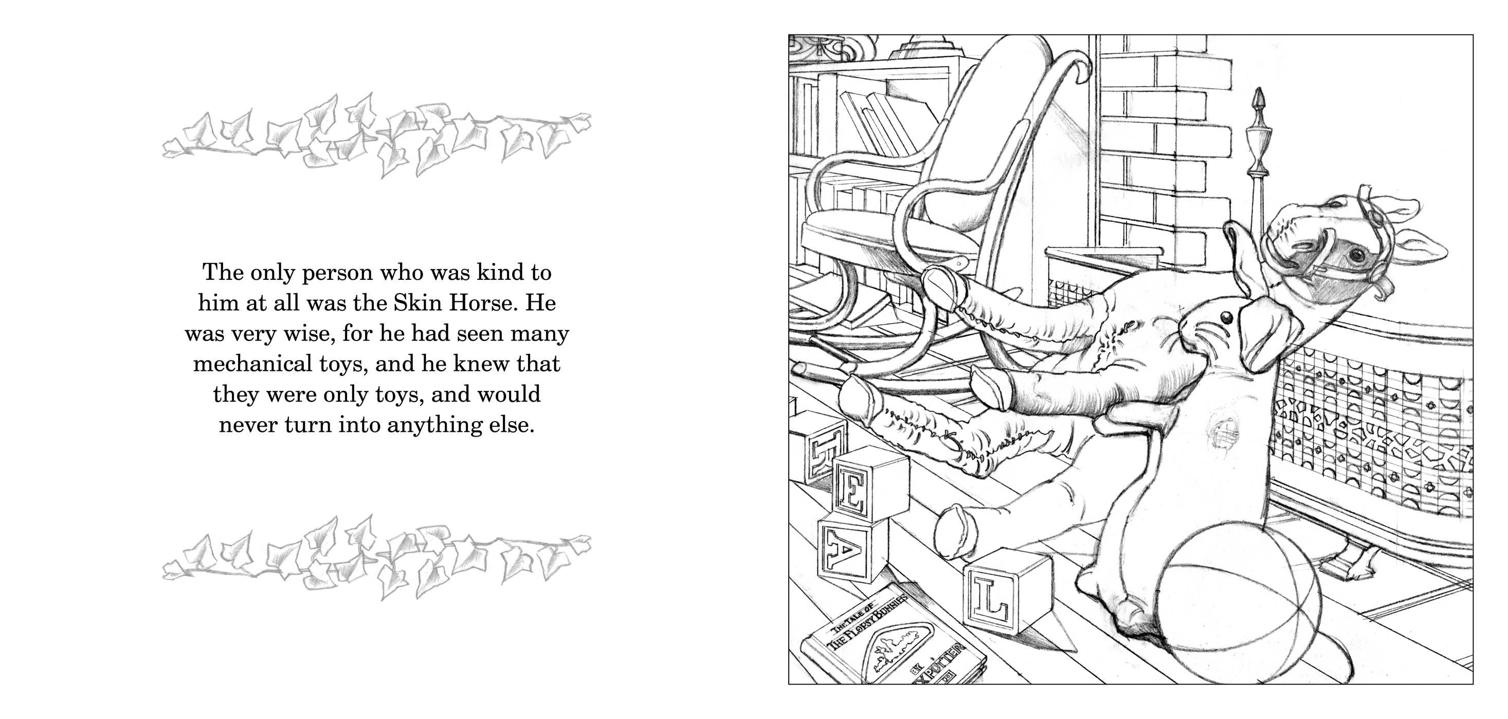Velveteen rabbit and coloring pages ~ The Velveteen Rabbit Coloring Book | Book by Charles ...