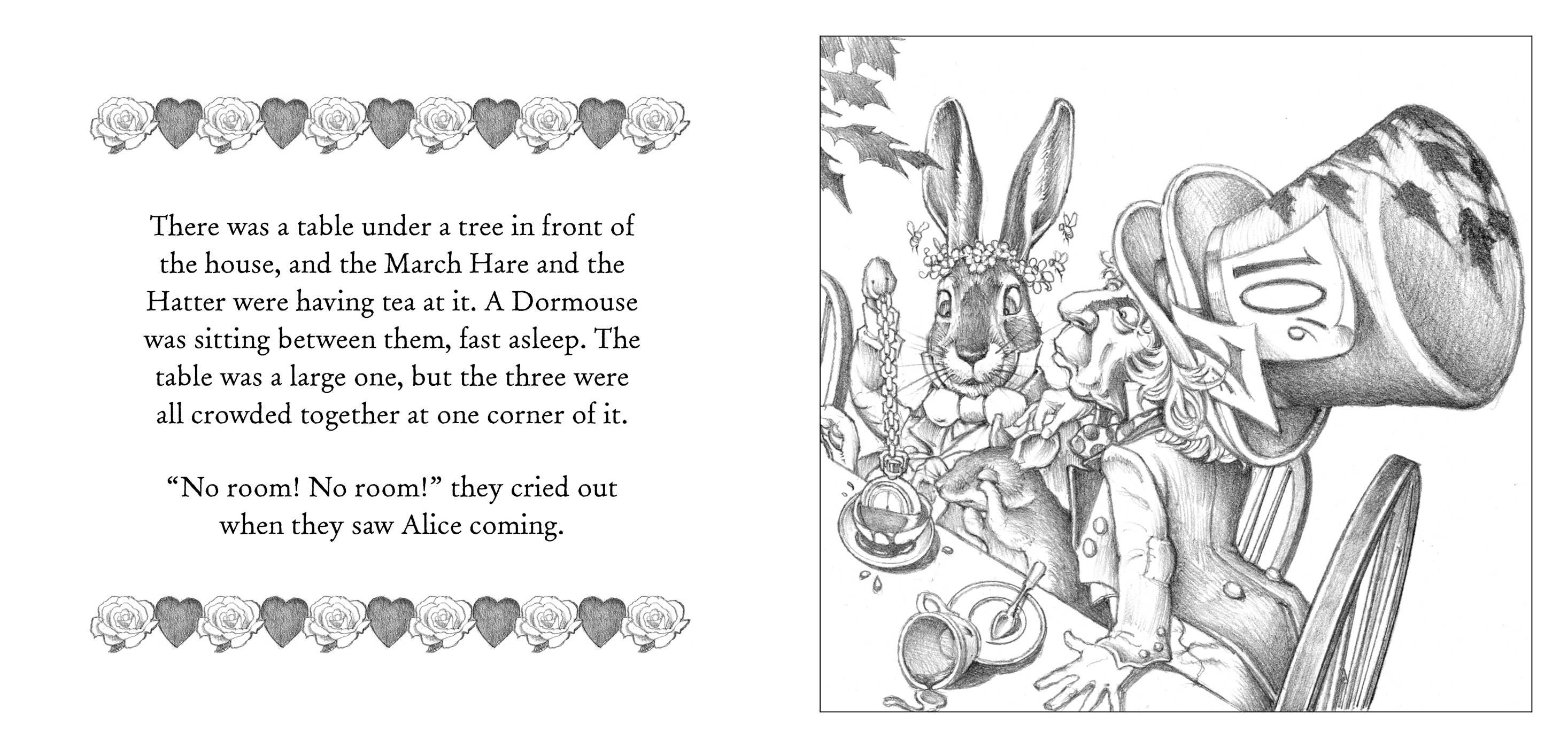 The Alice in Wonderland Coloring Book | Book by Lewis ...