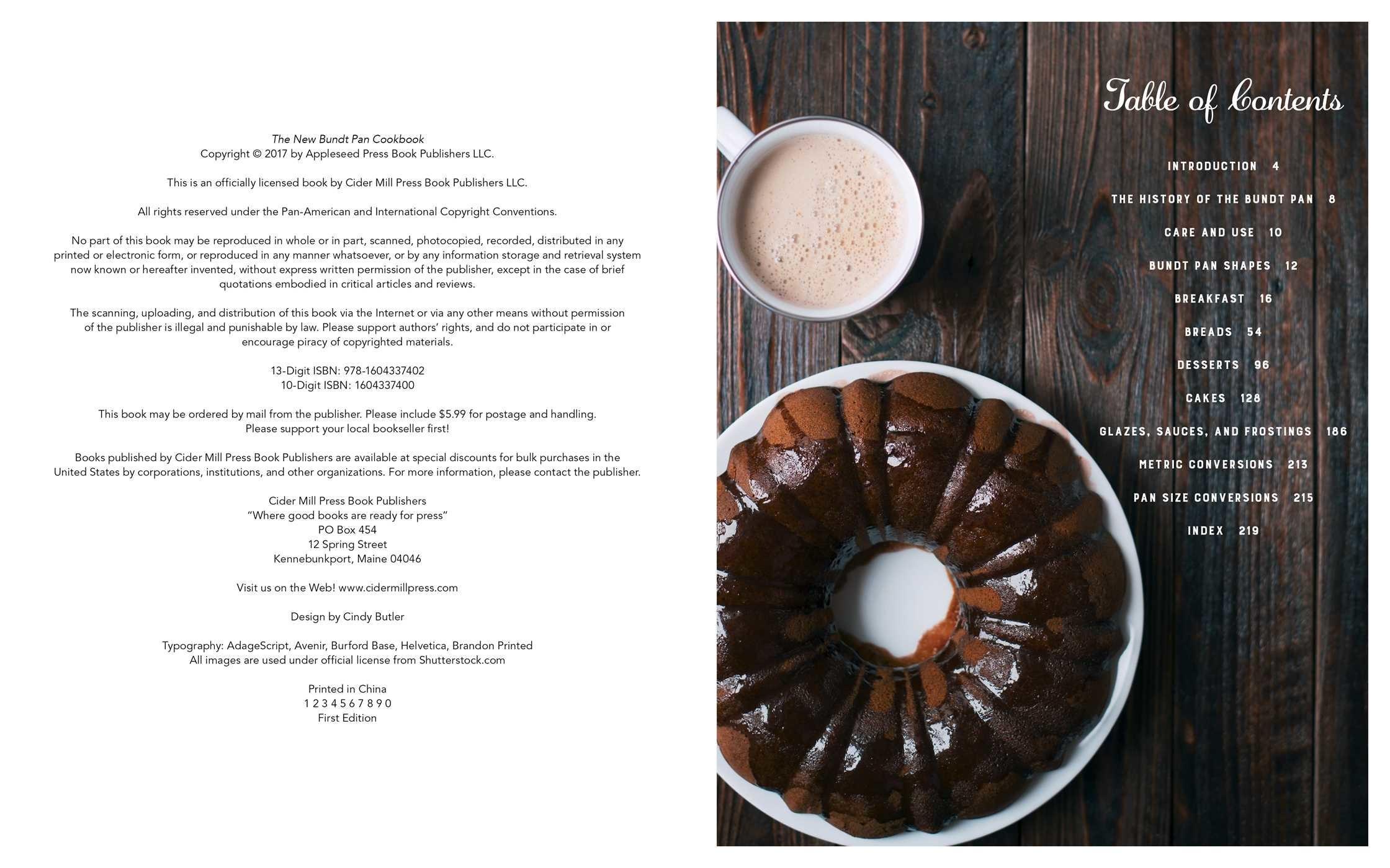 The new bundt pan cookbook 9781604337402.in01