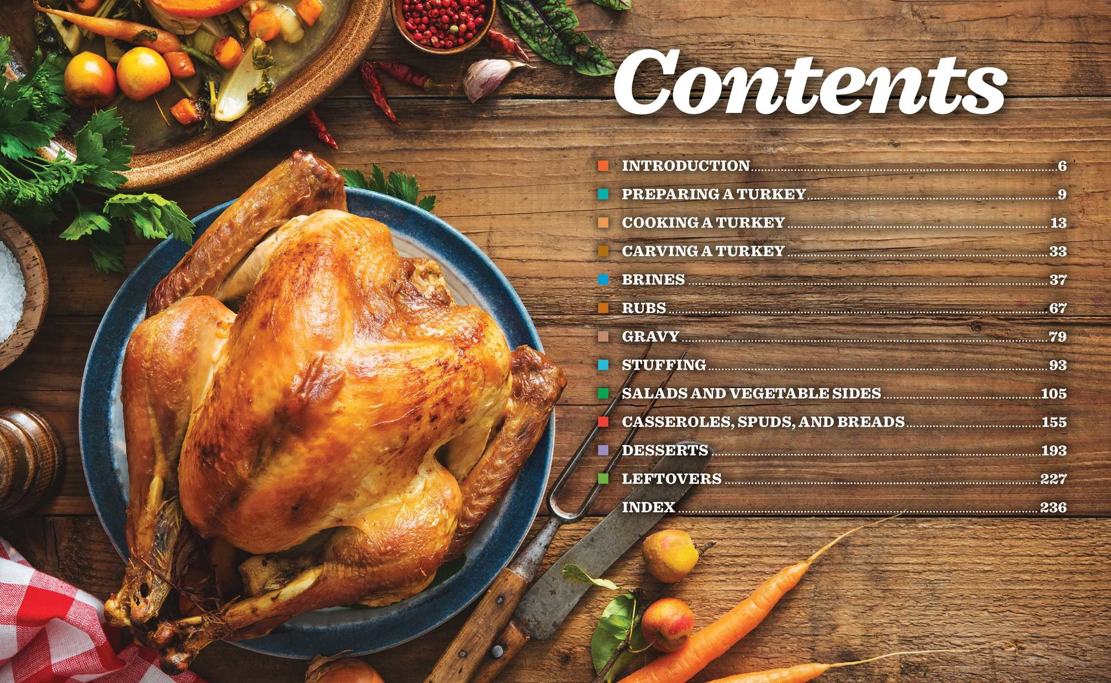 Perfect turkey cookbook 9781604338065.in02